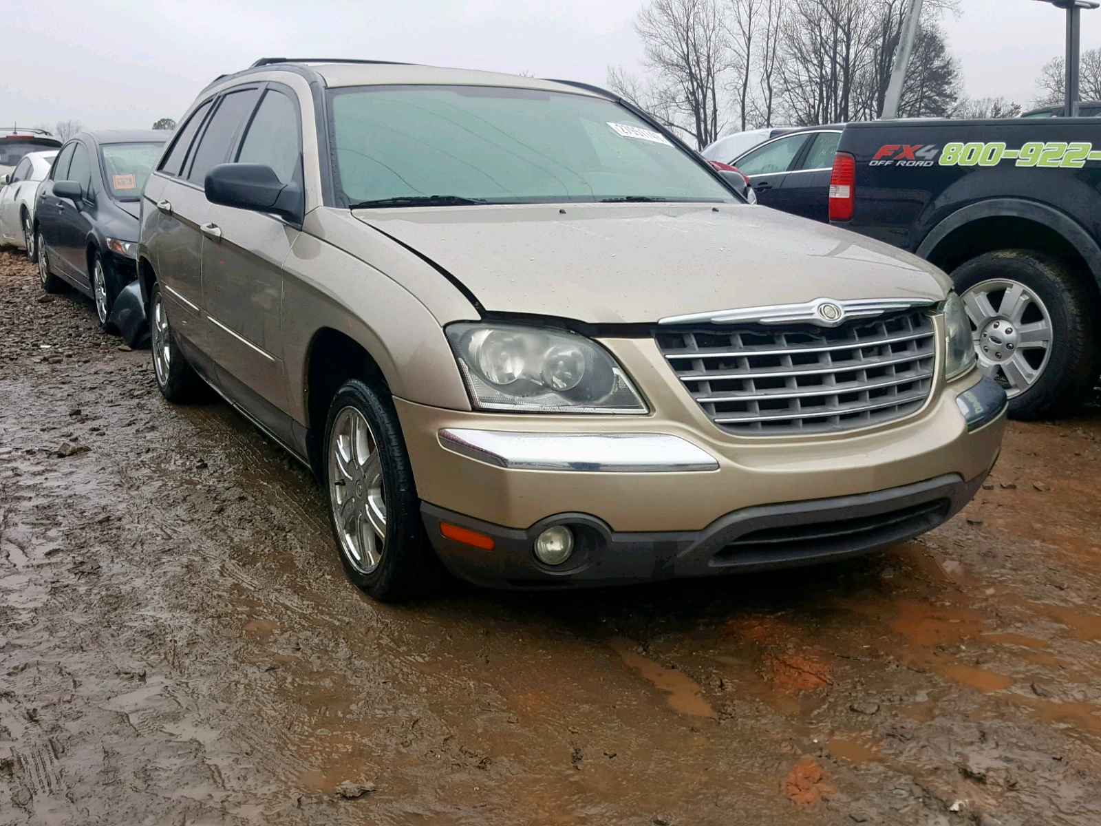 Salvage 2004 Chrysler PACIFICA for sale
