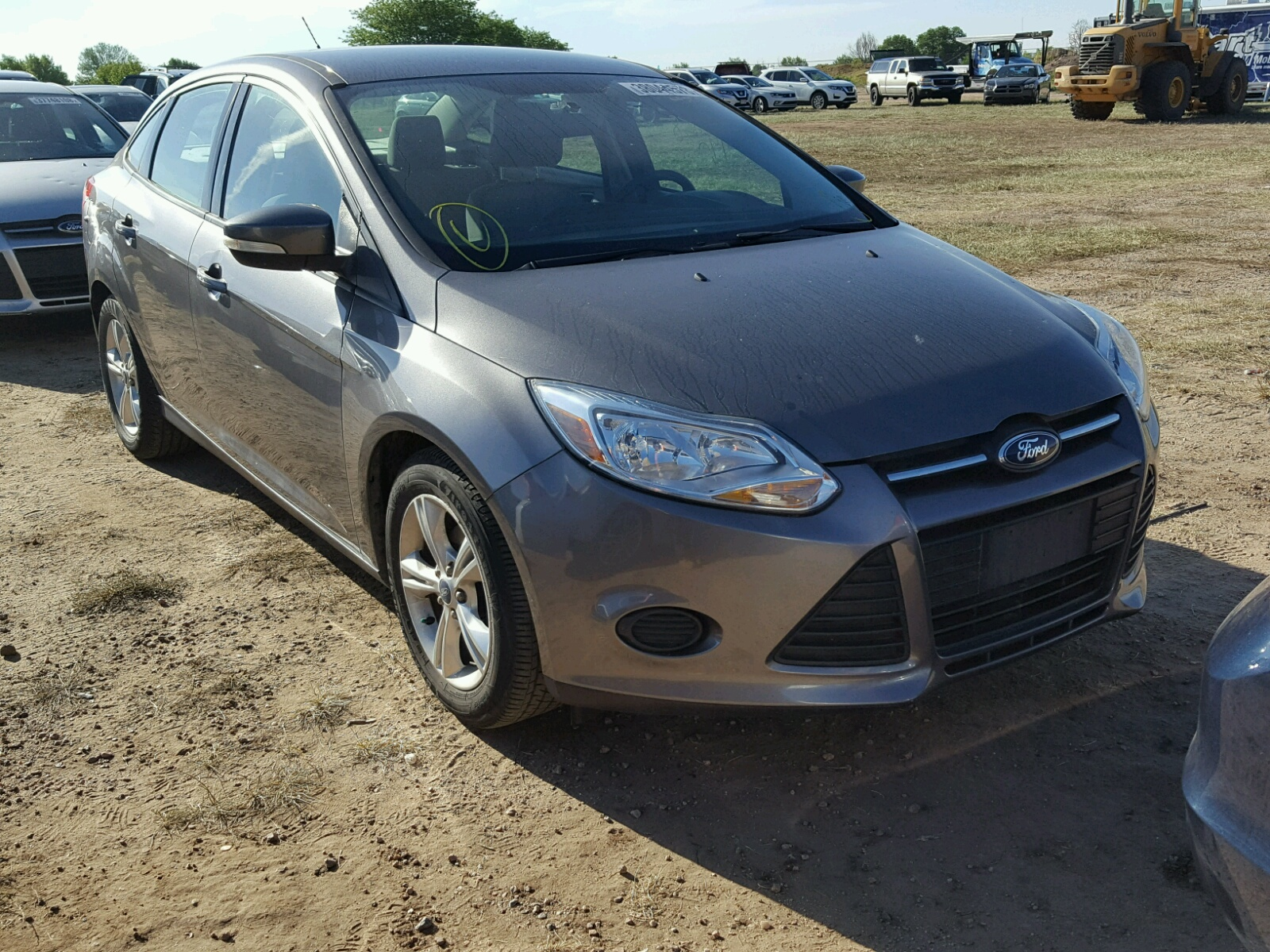 Salvage 2014 Ford FOCUS SE for sale