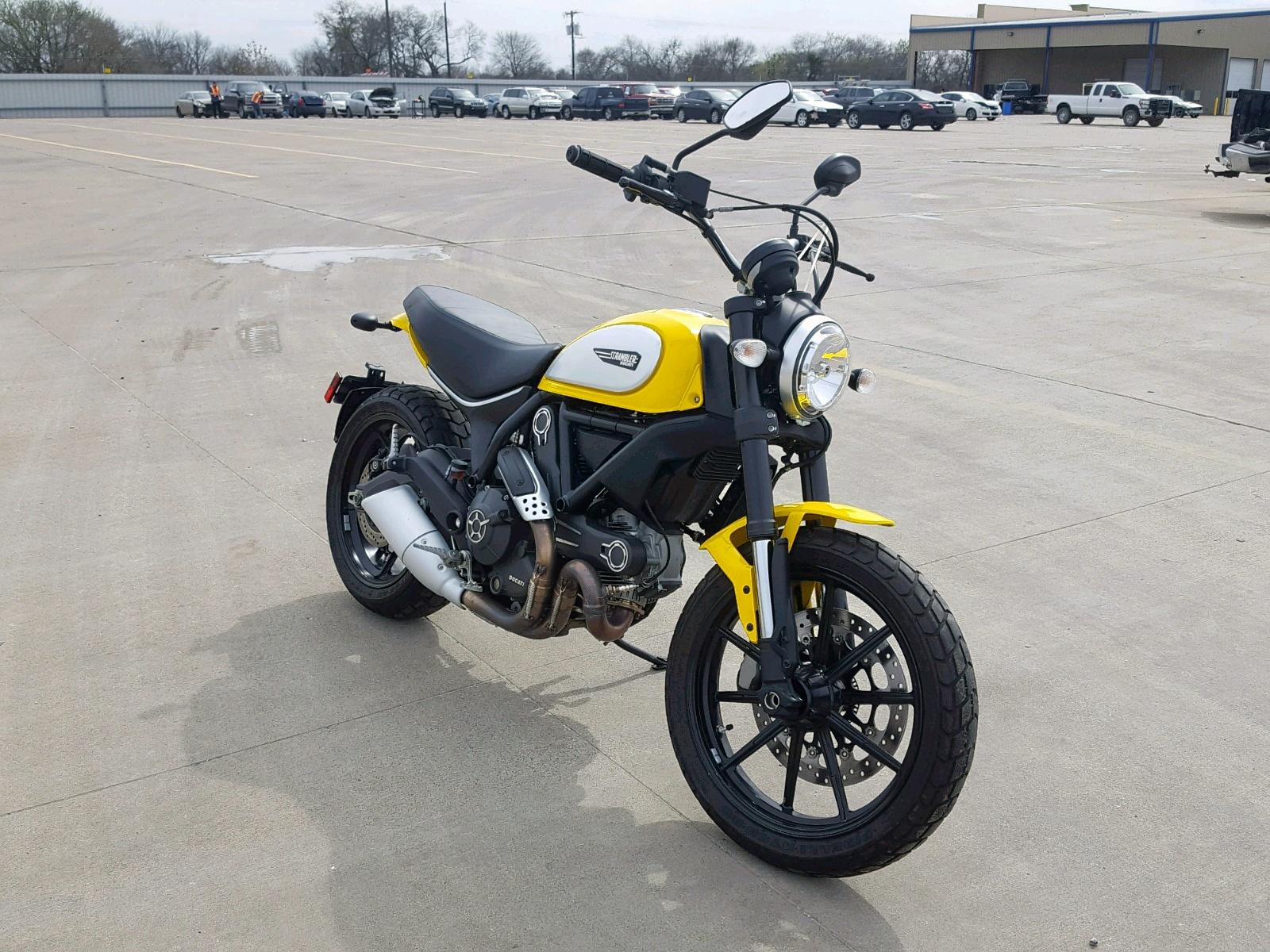 Salvage 2015 Ducati SCRAMBLER for sale