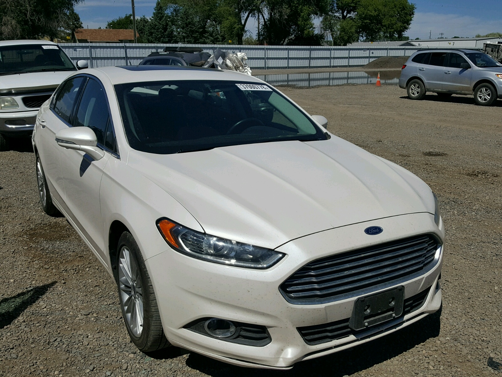 2014 Ford Fusion SE for sale at Copart Billings MT Lot