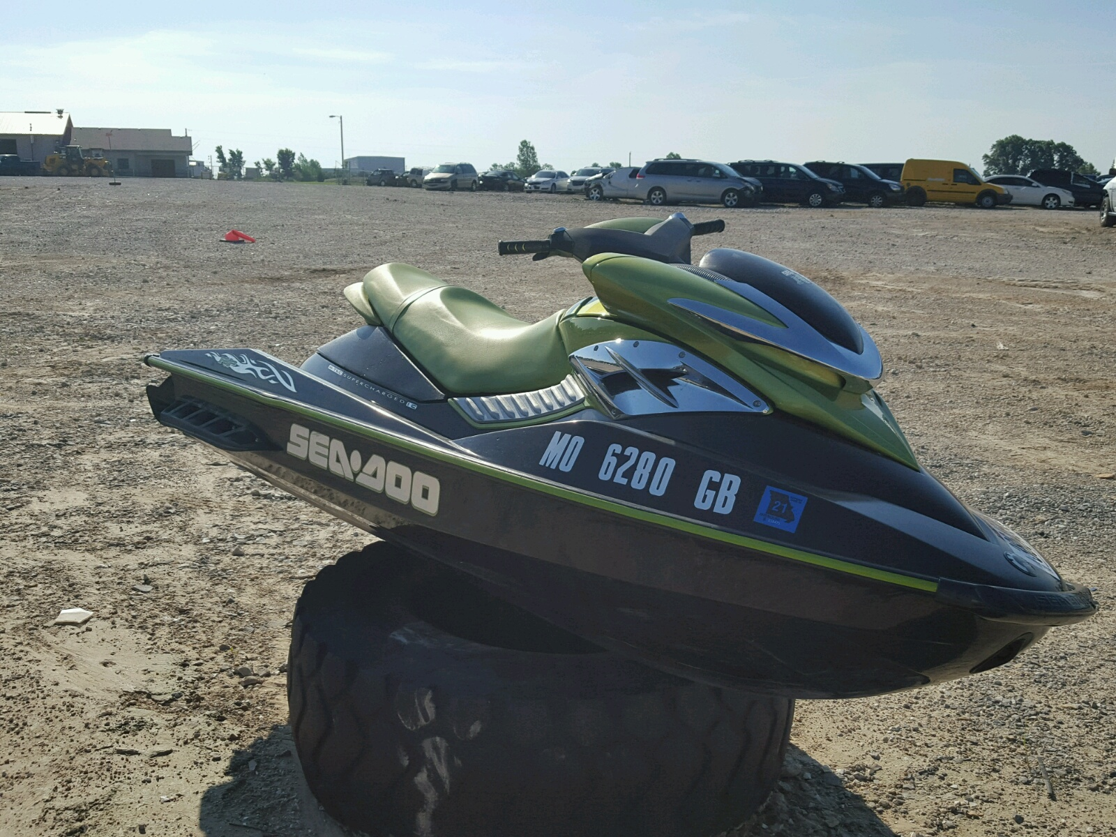 Salvage 2005 Seadoo RXP for sale