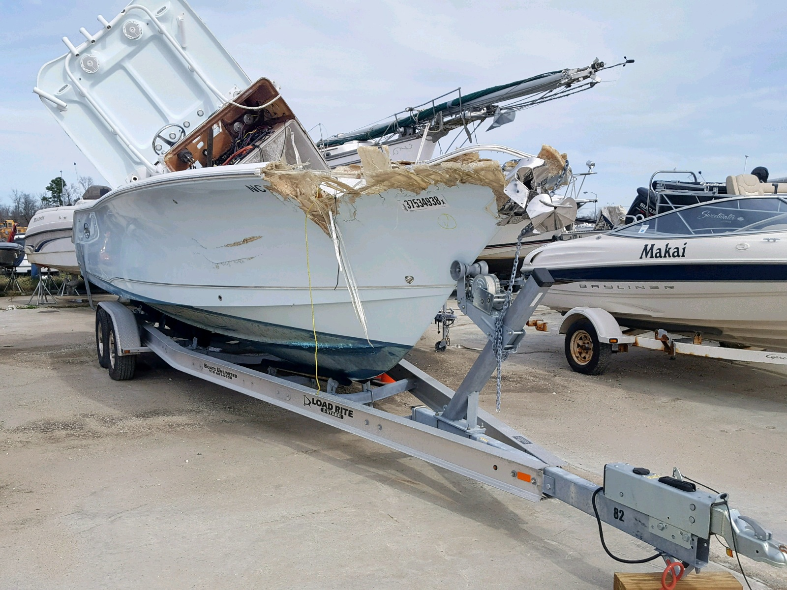 Salvage 2018 Seacat BOAT for sale