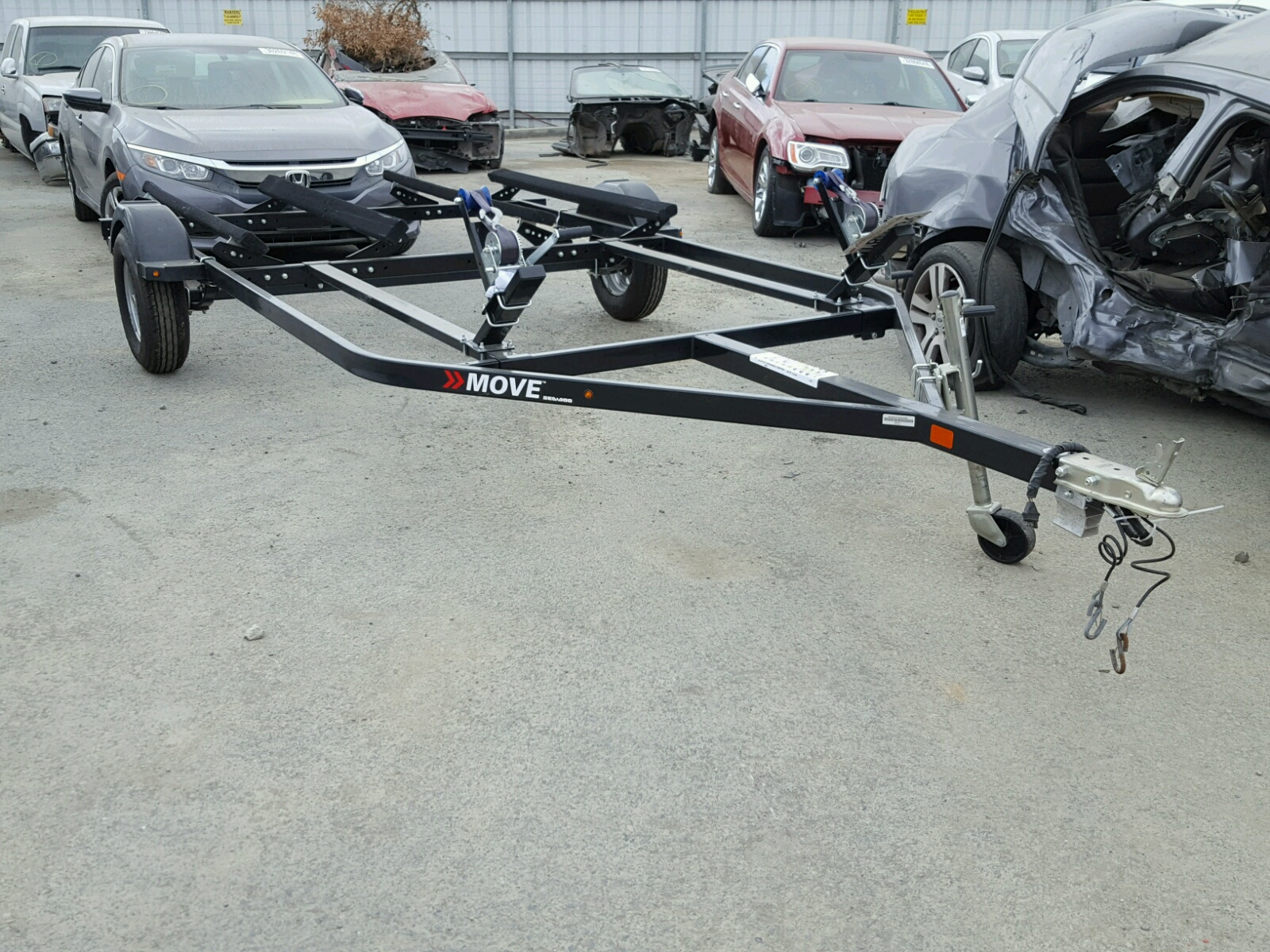 Salvage 2017 Boat TRAILER for sale