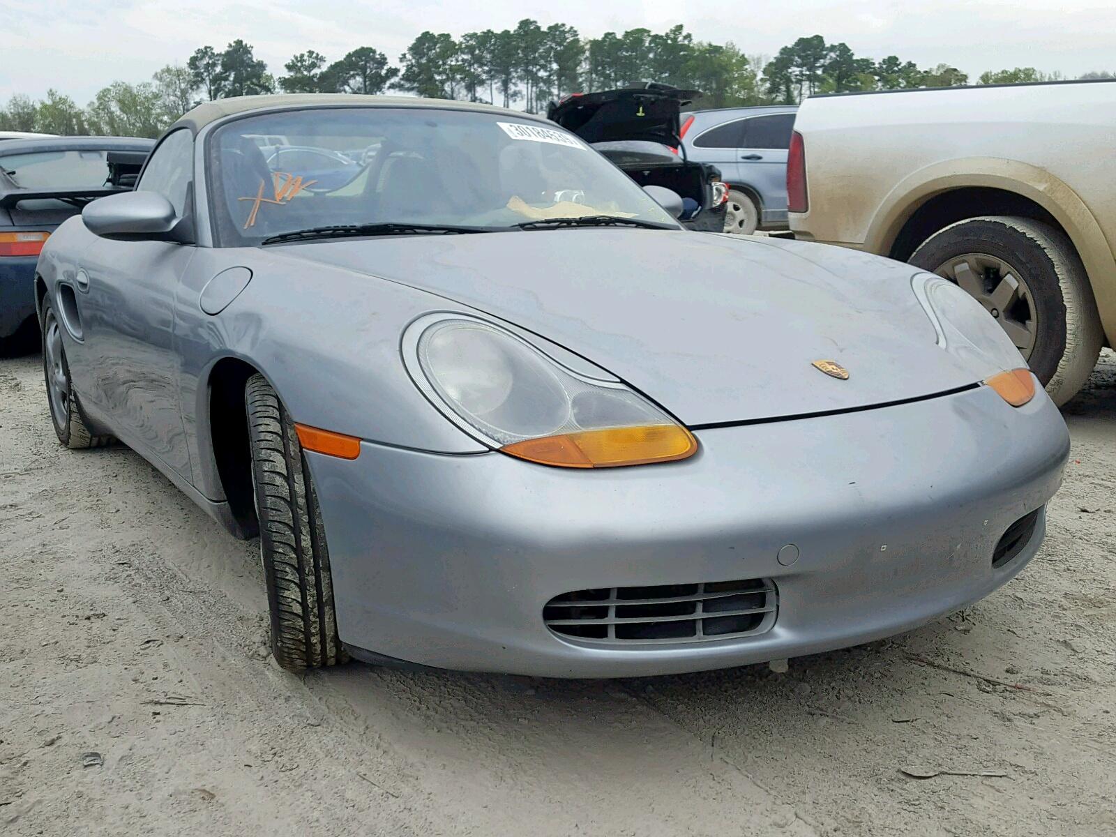 1999 Porsche Boxster 25l 6 In Tx Houston