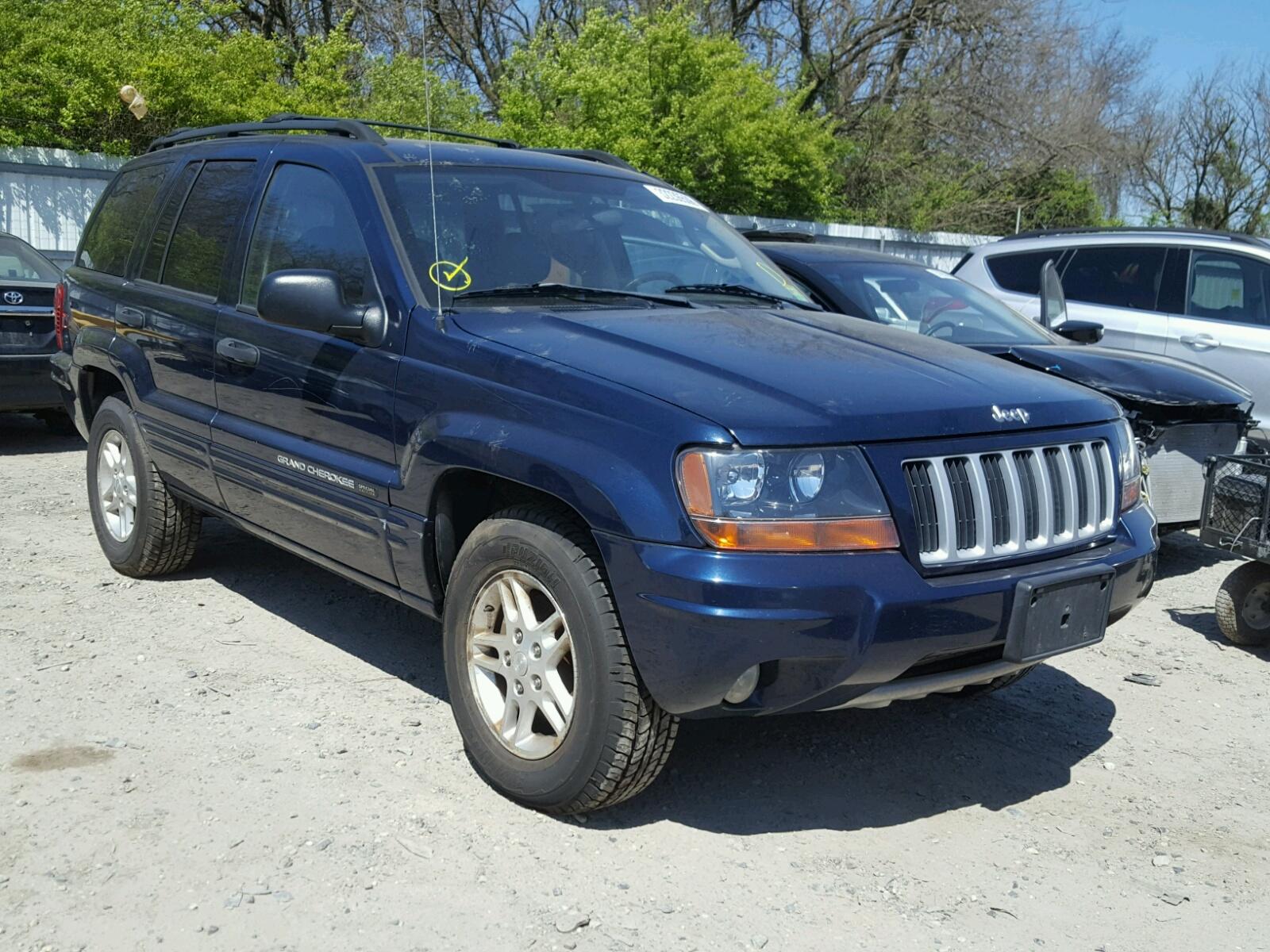 2004 Jeep Grand Cherokee for sale at Copart Glassboro NJ Lot