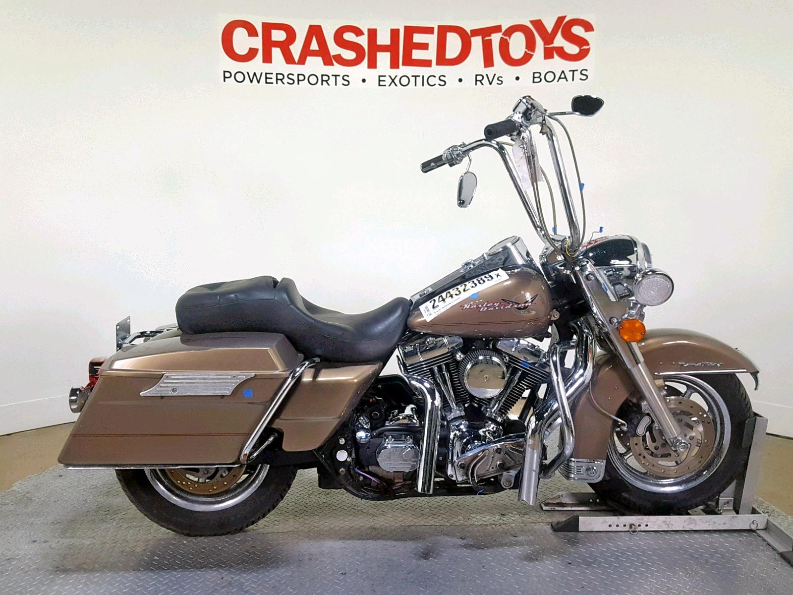 Salvage 2005 Harley-Davidson FLHRI for sale