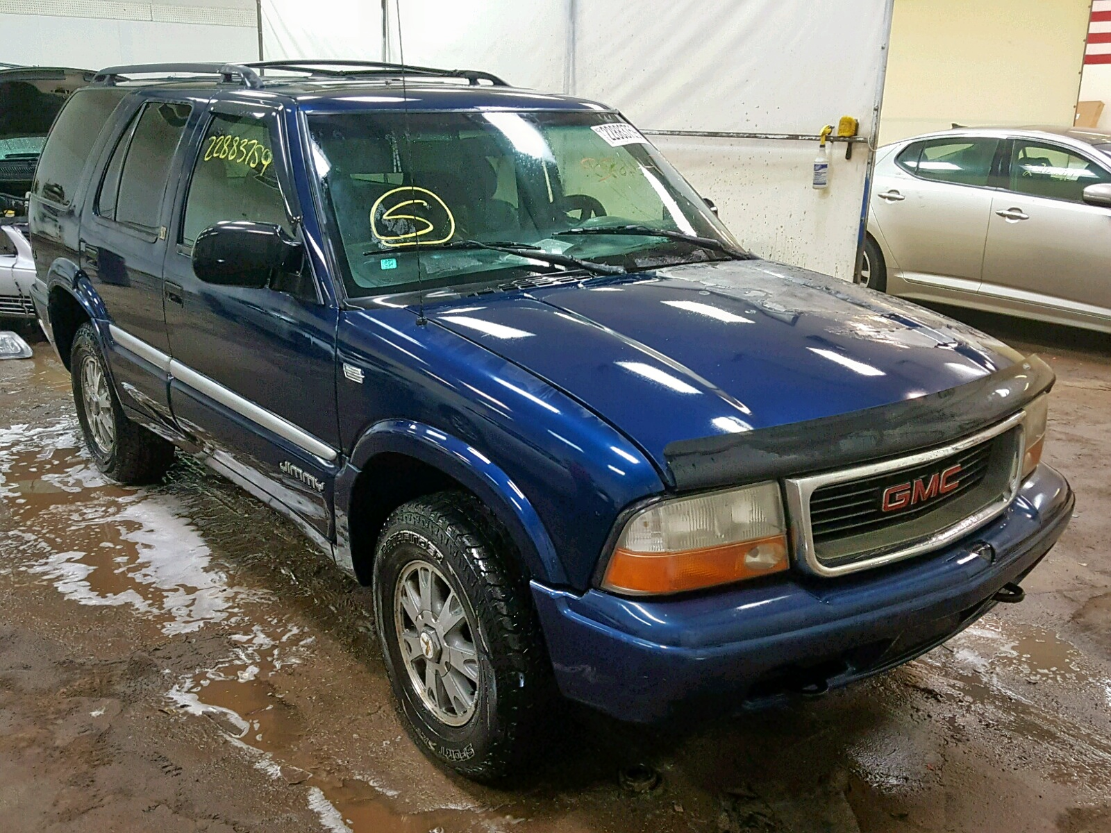 Salvage 2000 GMC JIMMY / EN for sale