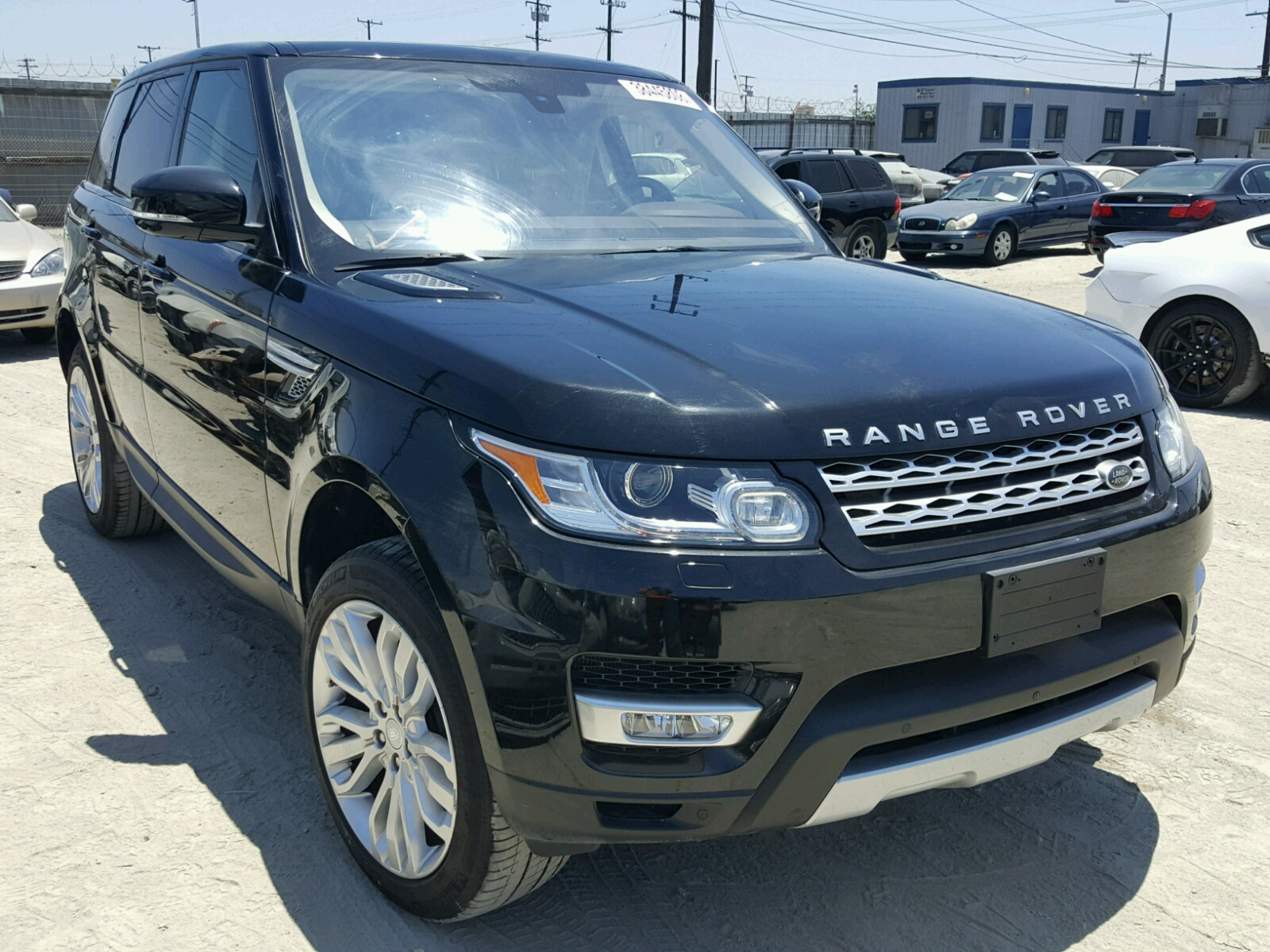 2016 Land Rover Range Rover for sale at Copart Los Angeles CA Lot