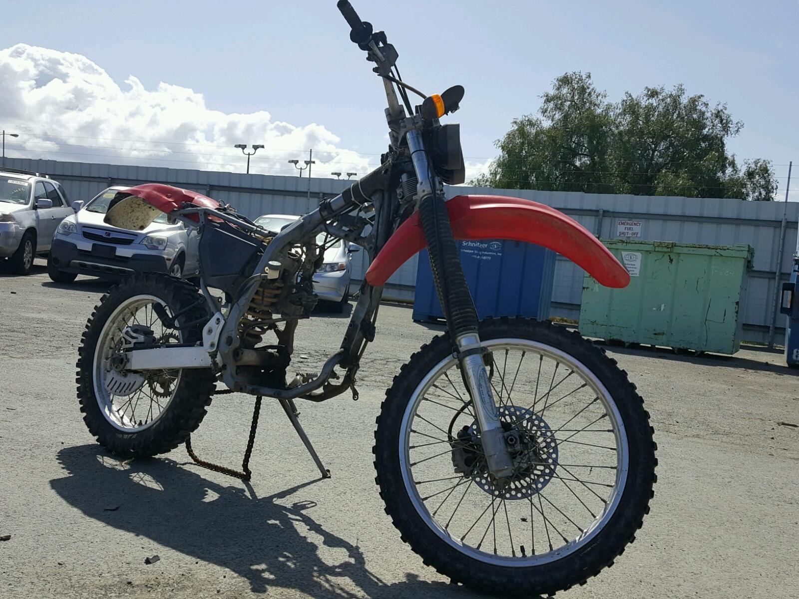 1998 HONDA XR400 R 1