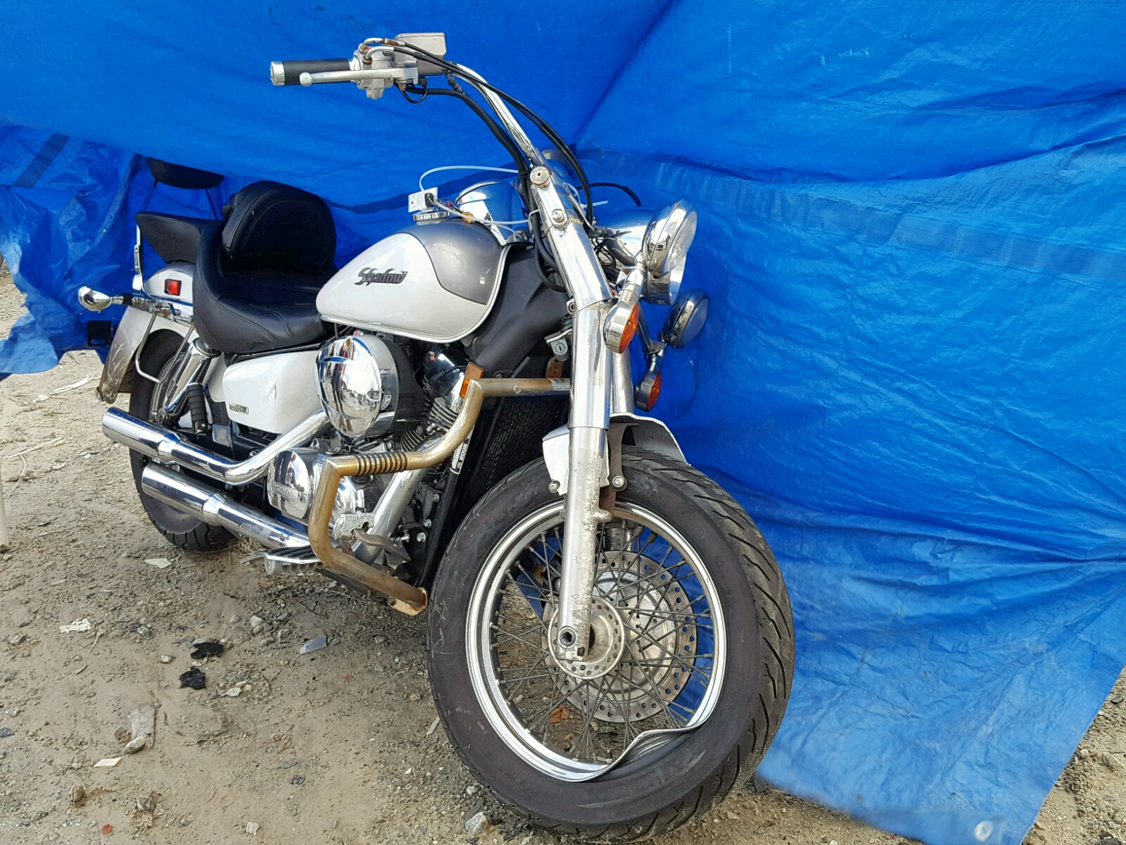Salvage 2005 Honda VT750 CA for sale