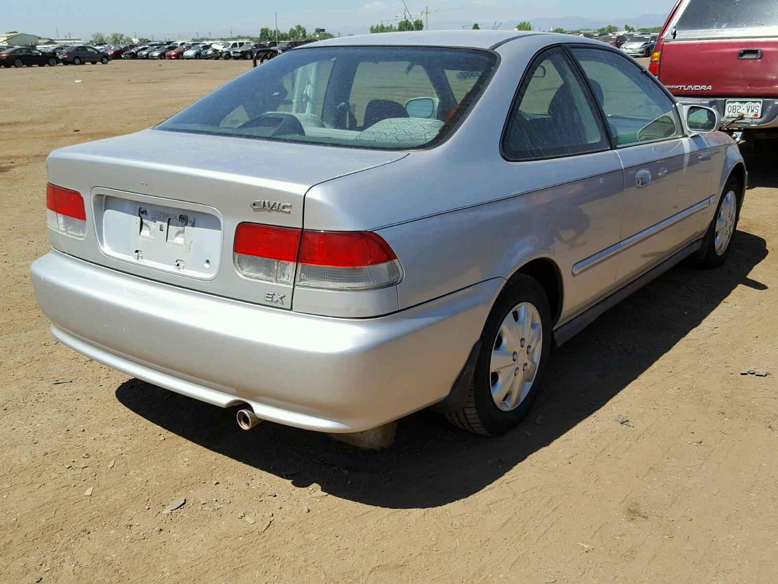1999 Honda Civic Ex 16l 4 In Co Denver 1hgej8243xl012168 For Rear View