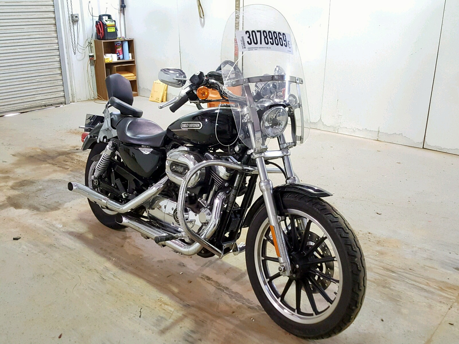 Salvage 2008 Harley-Davidson XL1200 L for sale