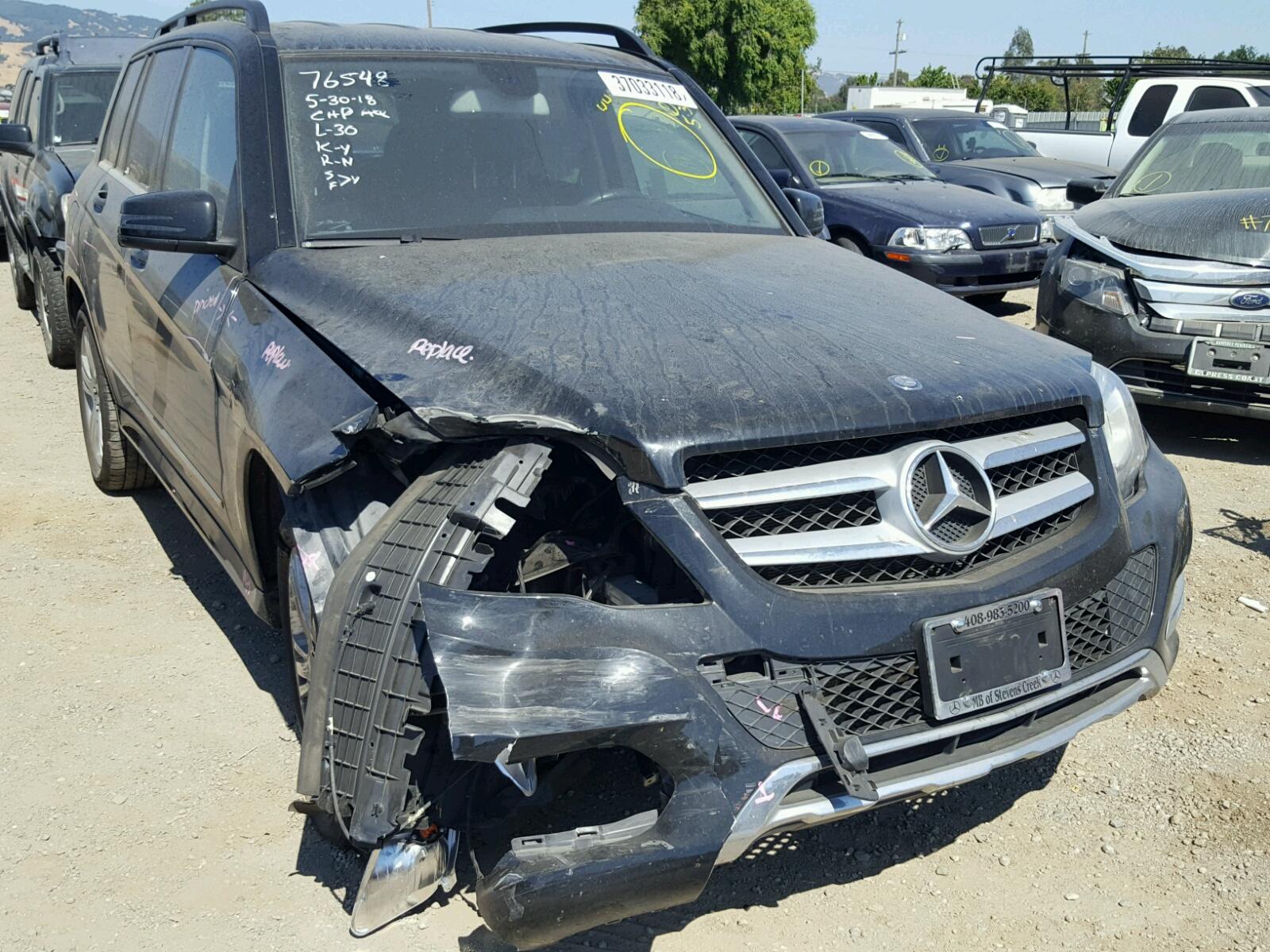 2014 Mercedes Benz GLK 350 4M for sale at Copart San Martin CA Lot