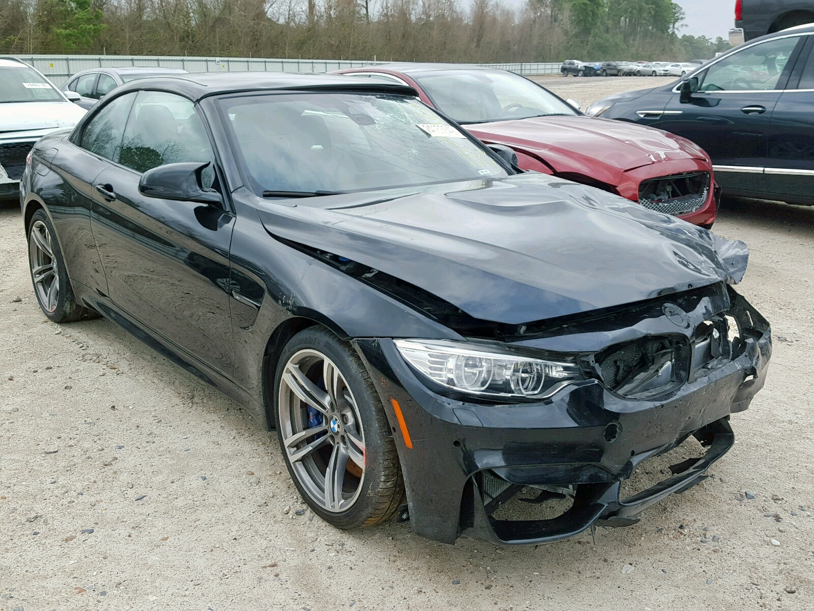 Salvage 2017 BMW M4 for sale