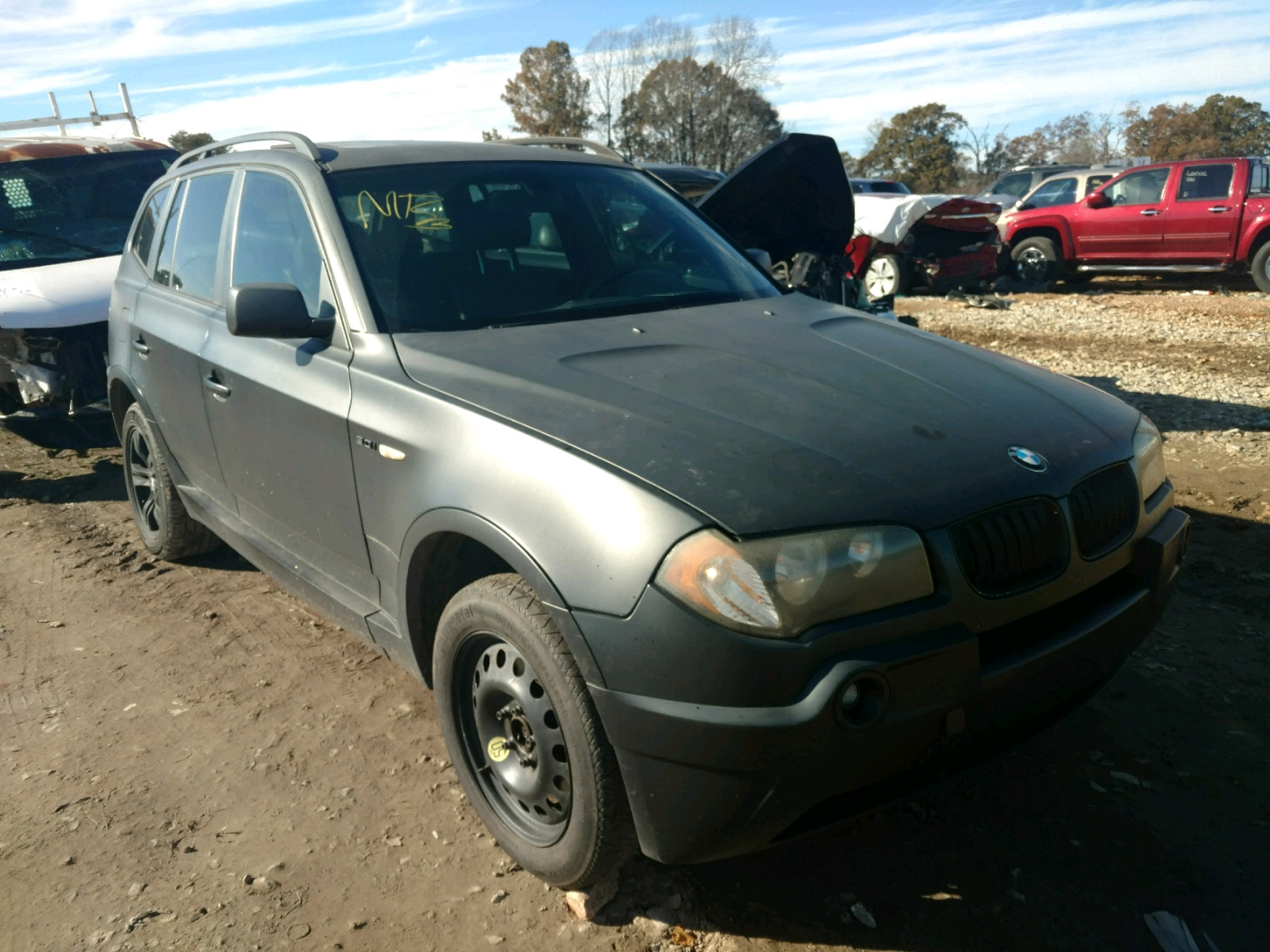 Salvage 2004 BMW X3 3.0I for sale