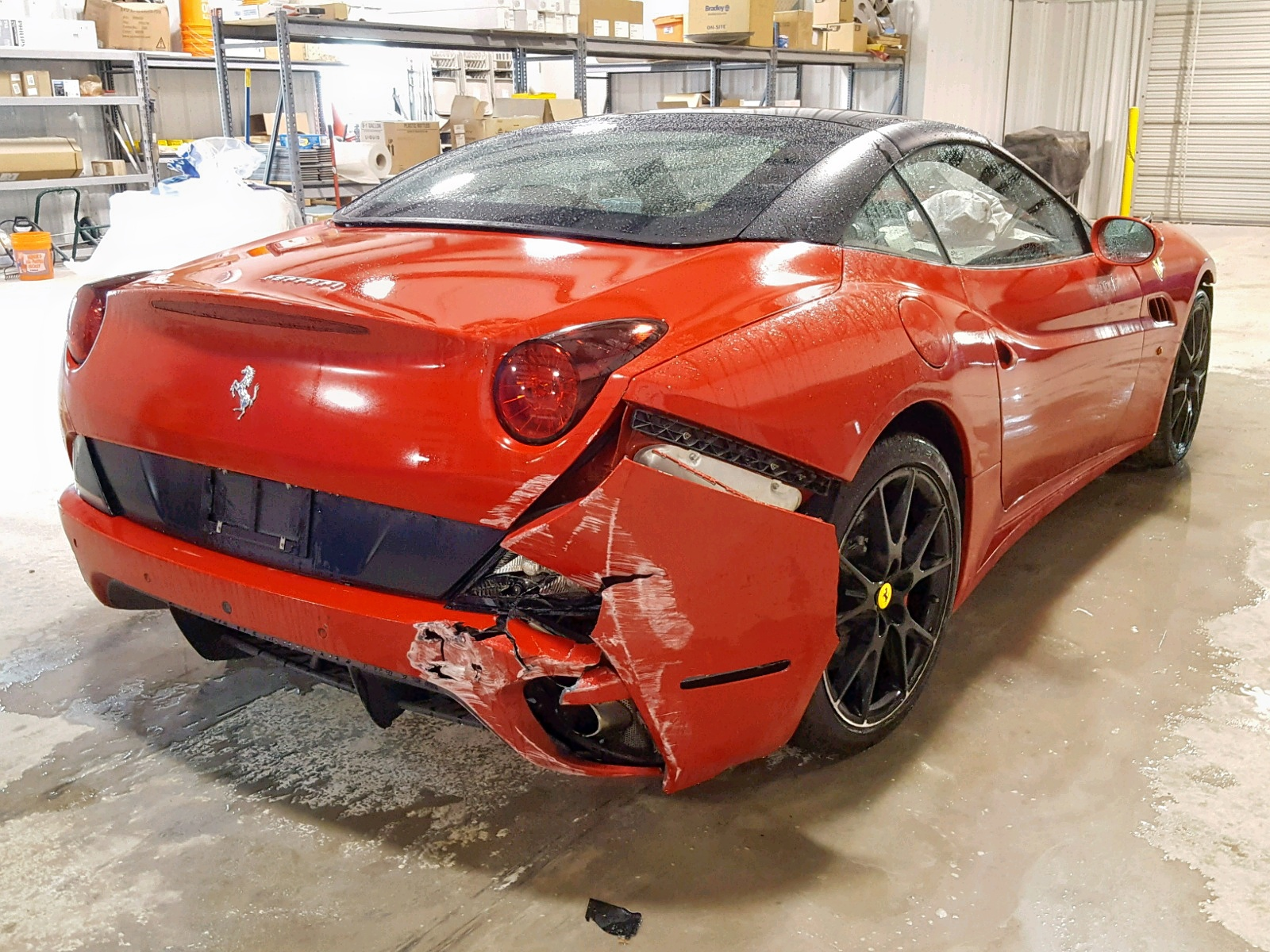 2011 Ferrari California 4 3l 8 In Tx Ft Worth Zff65lja8b0178425