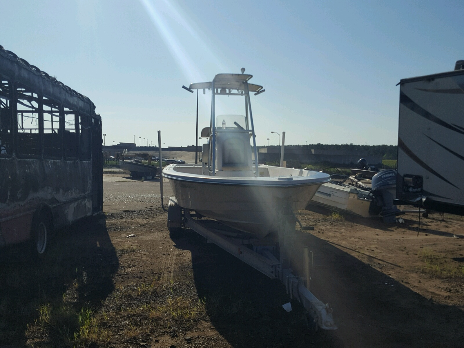 Salvage 2009 Pathfinder BOAT for sale
