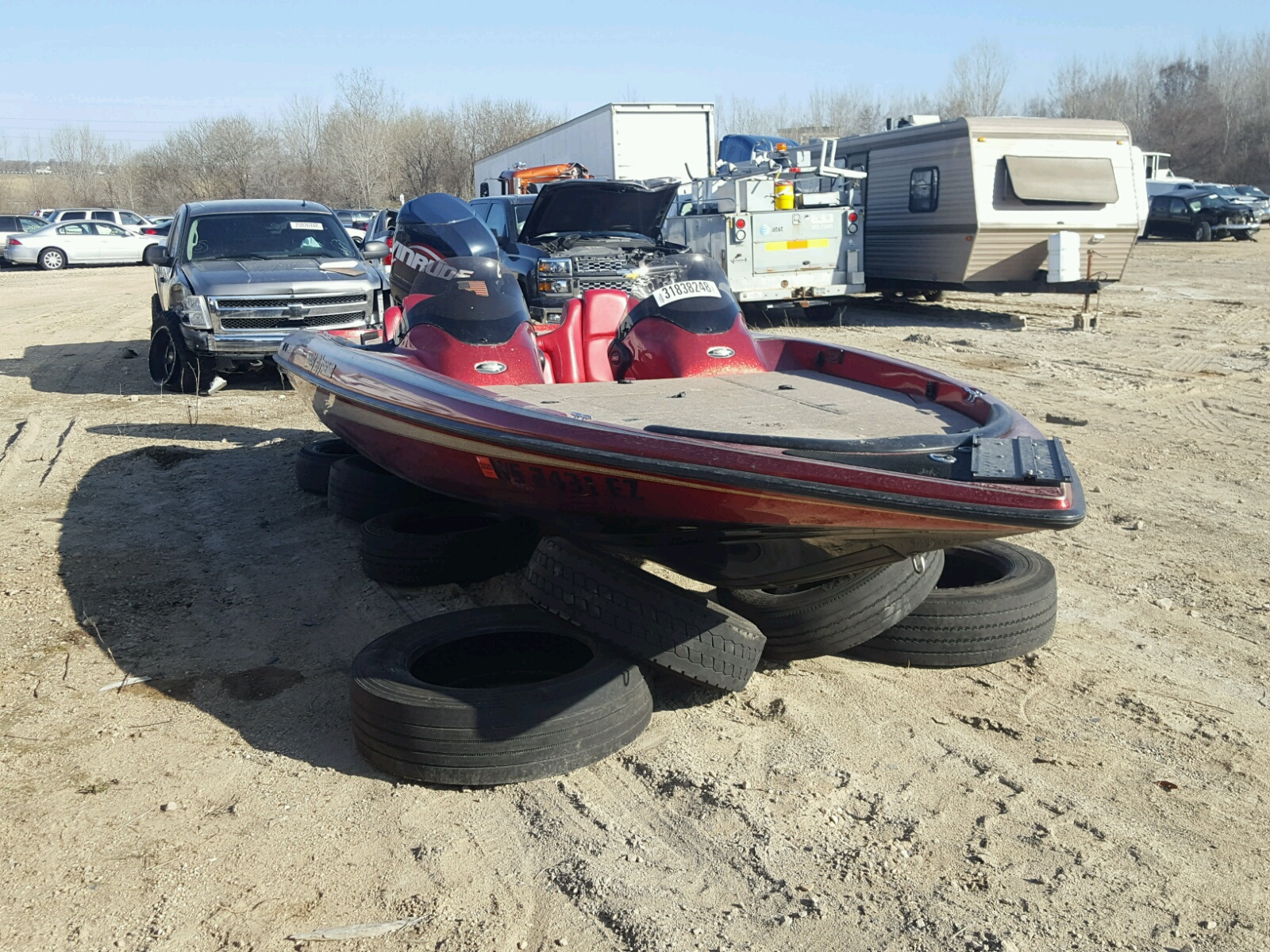 Salvage 2001 Stratos EXTREME 22 for sale
