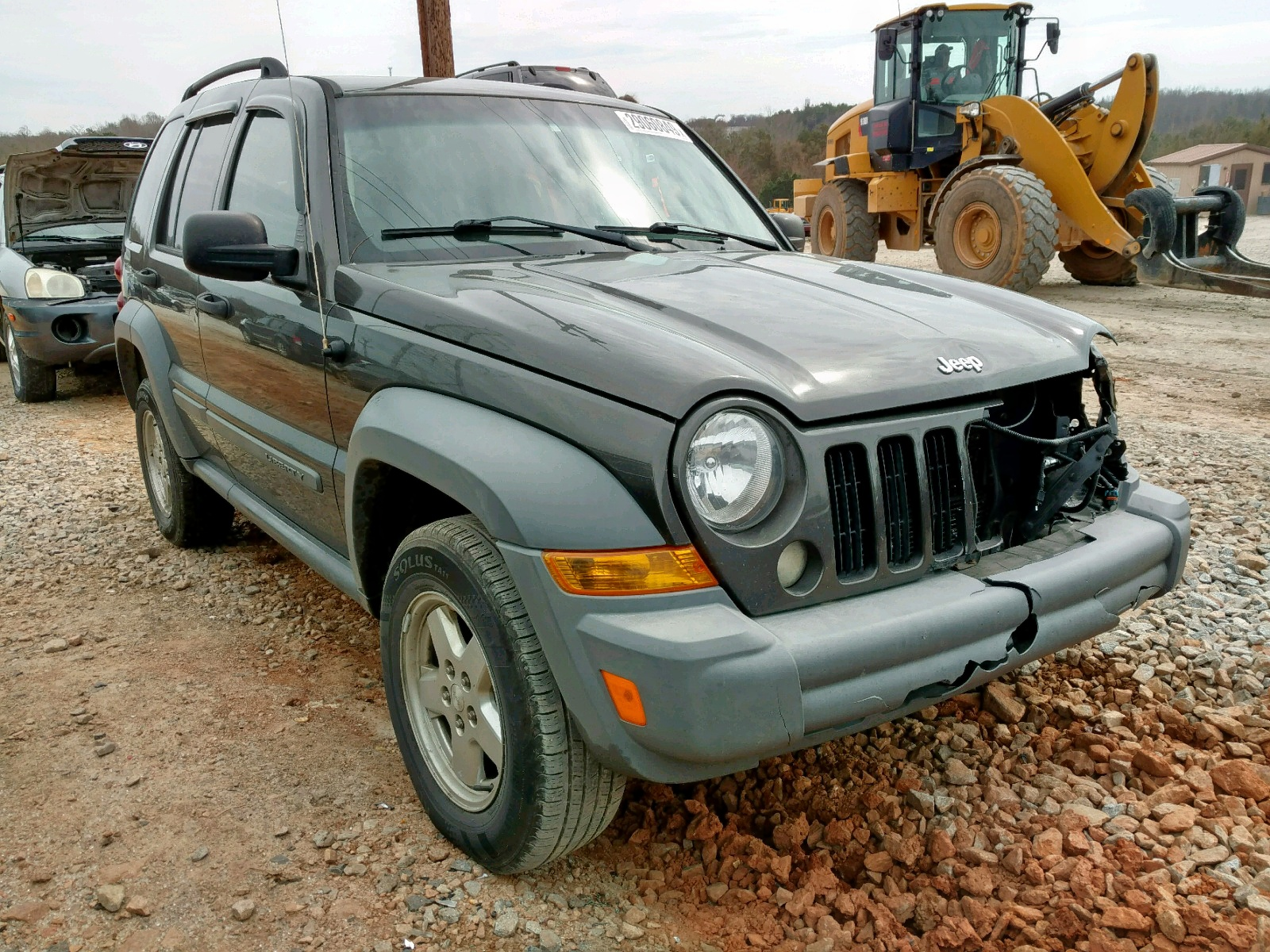 Salvage 2006 Jeep LIBERTY SP for sale