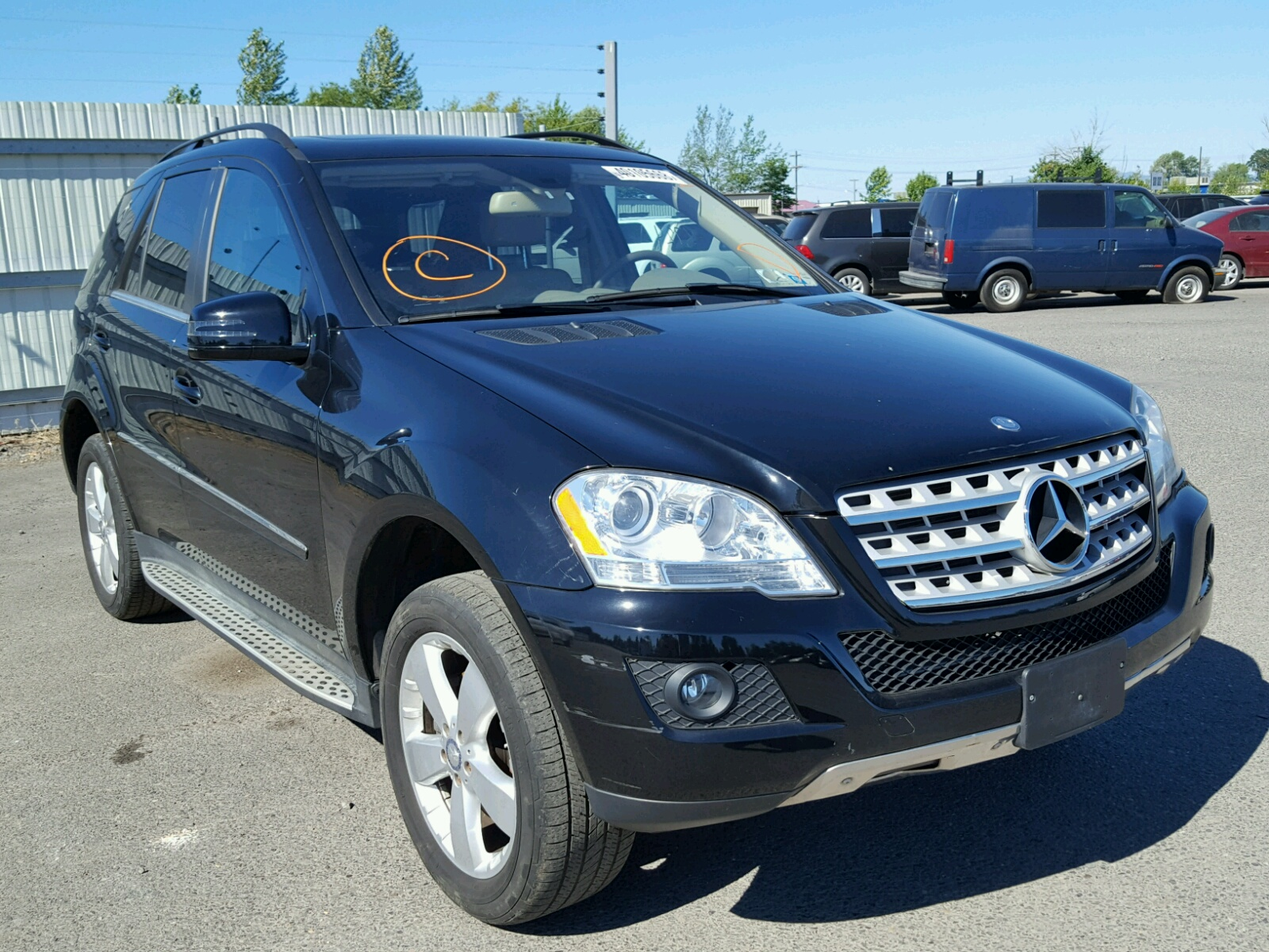 2011 Mercedes Benz ML 350 4matic for sale at Copart Portland OR Lot