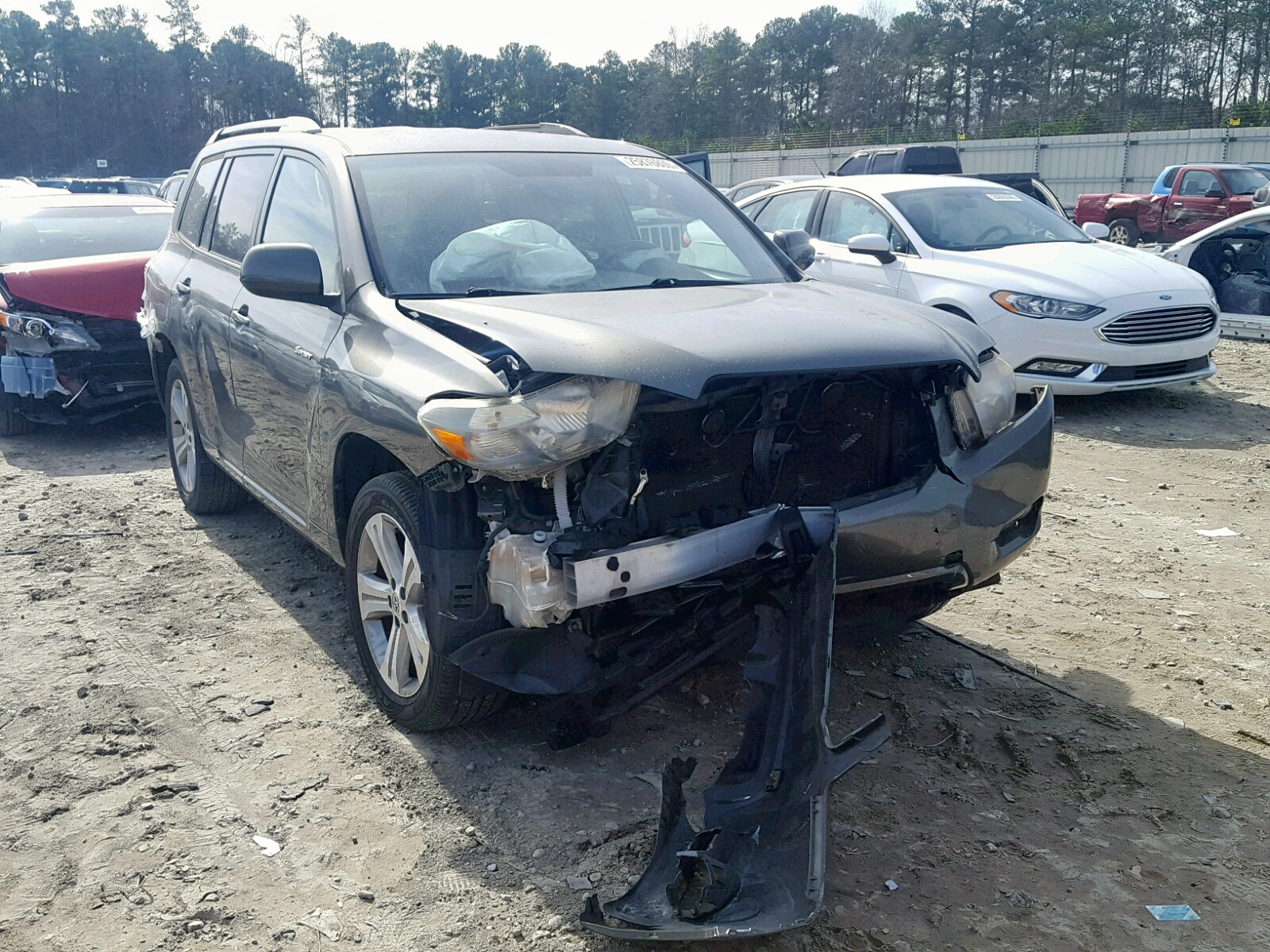 Salvage 2008 Toyota HIGHLANDER for sale