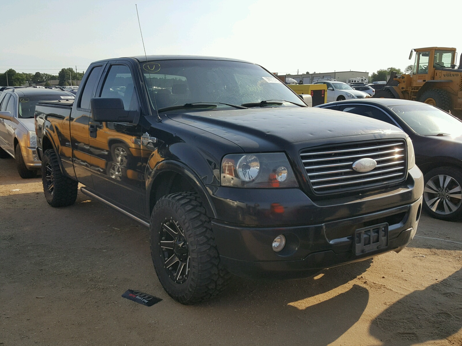 Salvage 2006 Ford F150 for sale