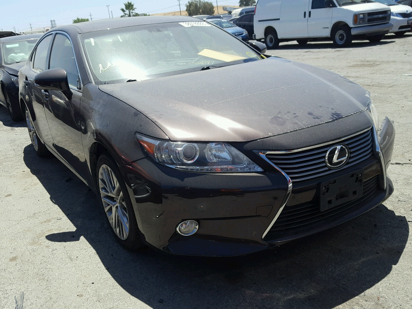 2013 Lexus ES 350 for sale at Copart Martinez CA Lot