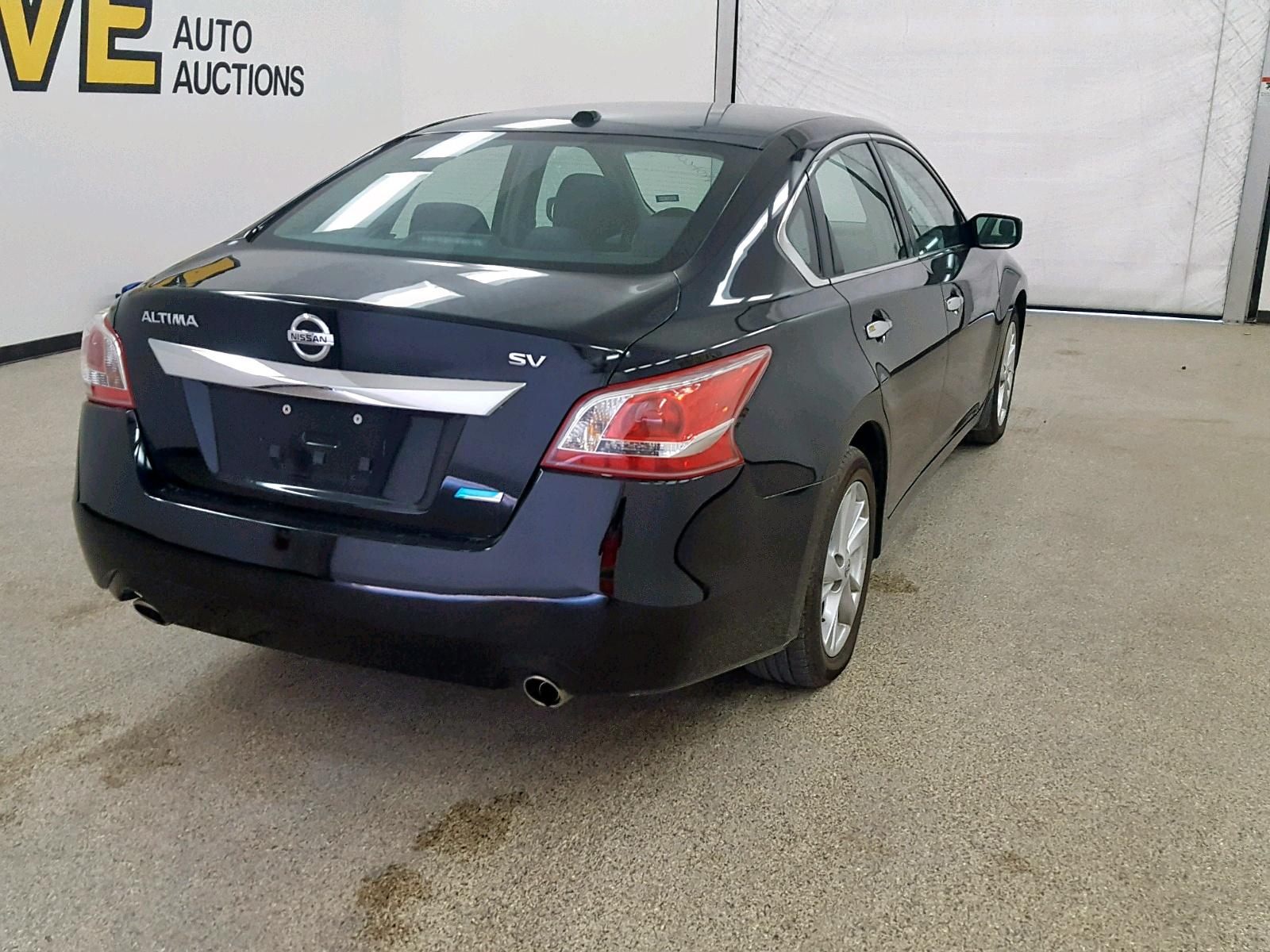 1N4AL3AP7DC286142 - 2013 Nissan Altima 2.5 2.5L rear view