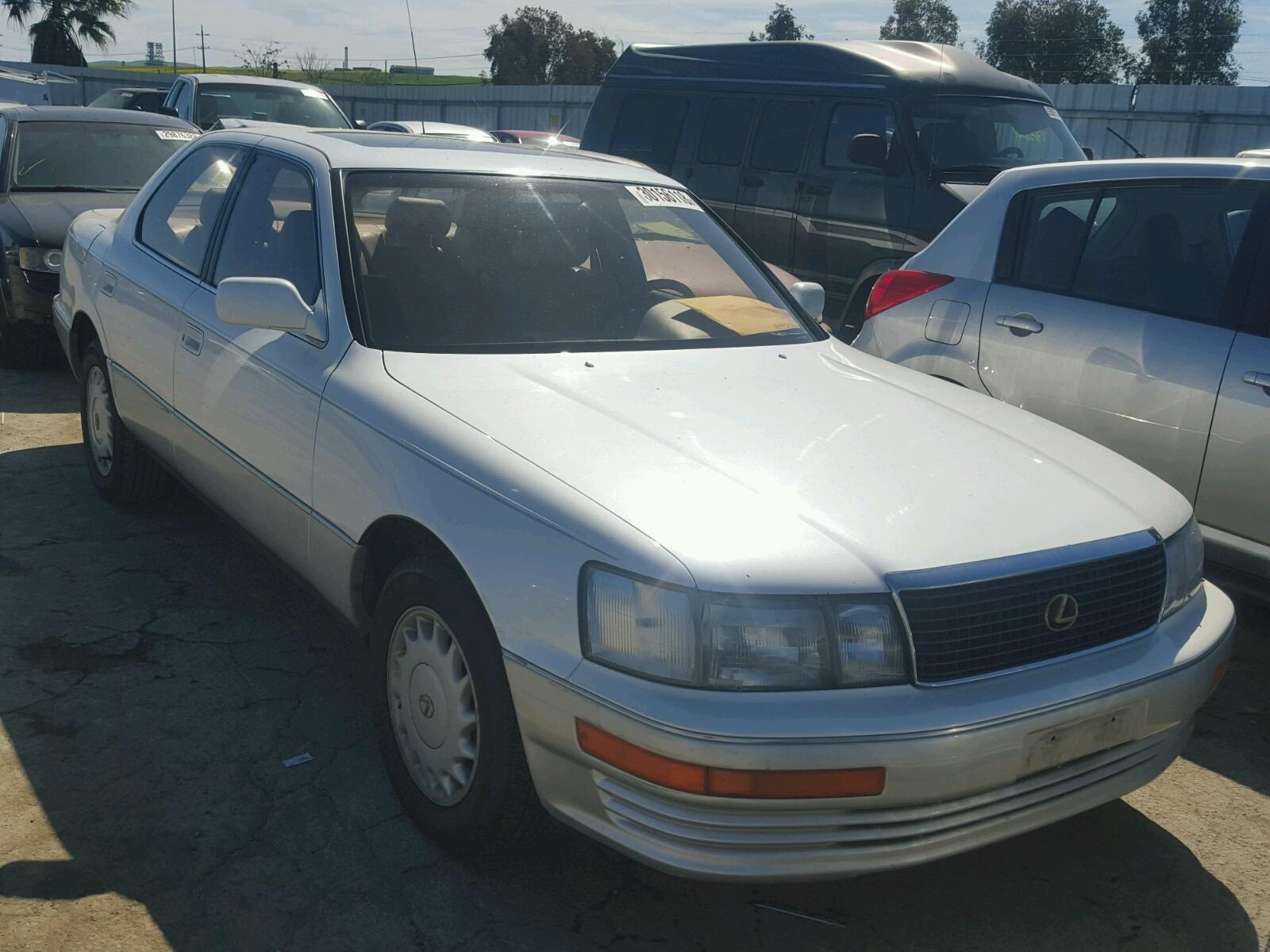 Salvage 1992 Lexus LS 400 for sale