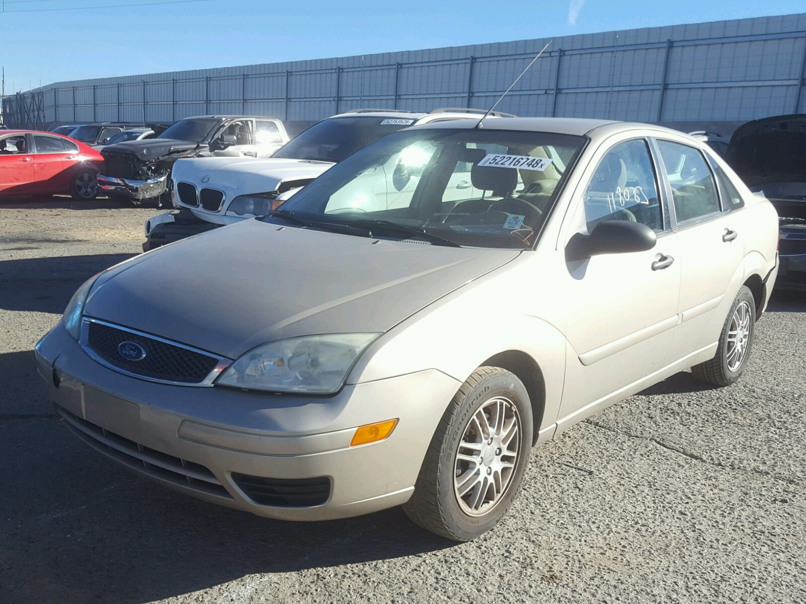 2006 ford focus zx4 lot 52216748