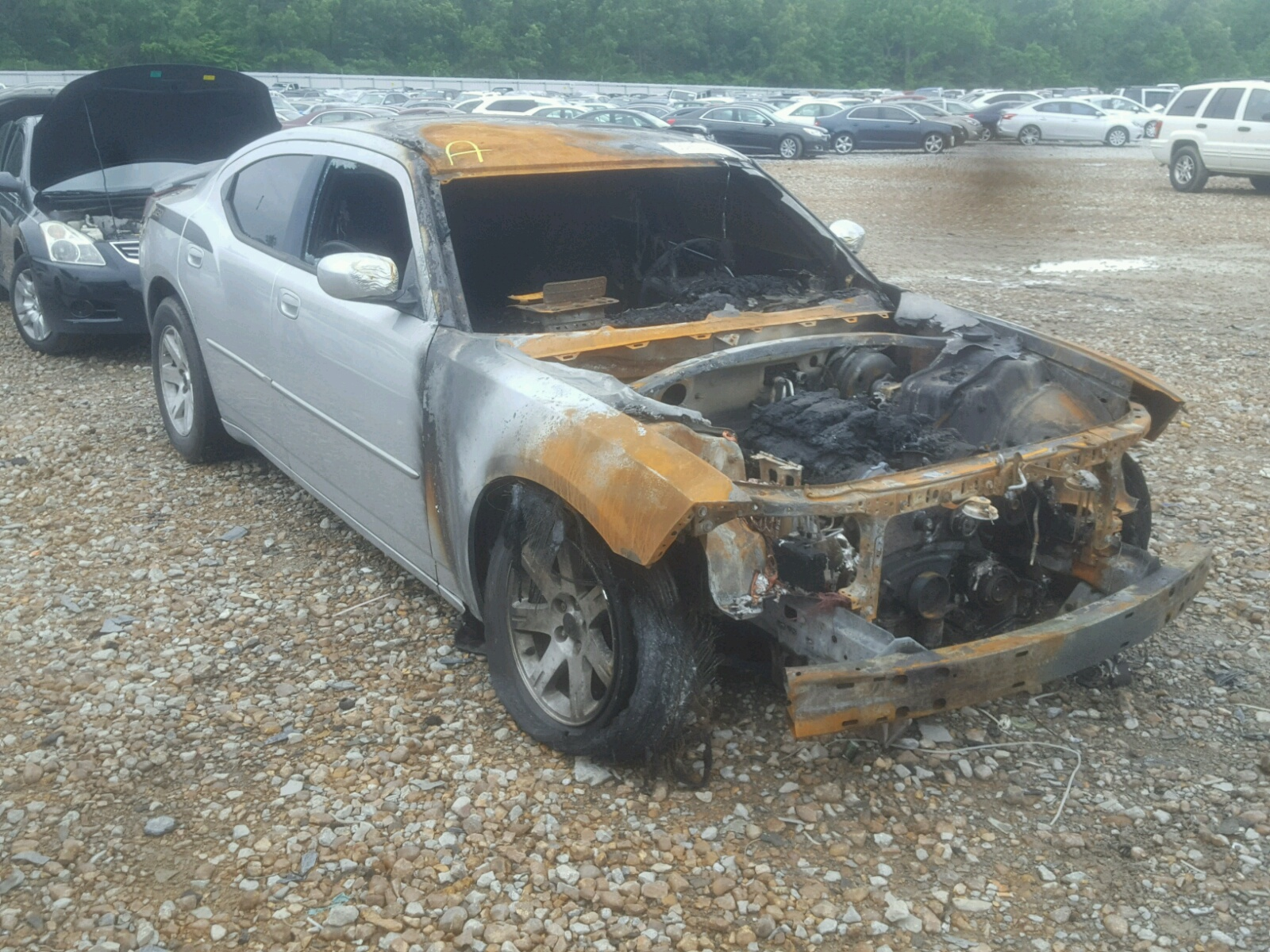 Salvage 2010 Dodge CHARGER SX for sale