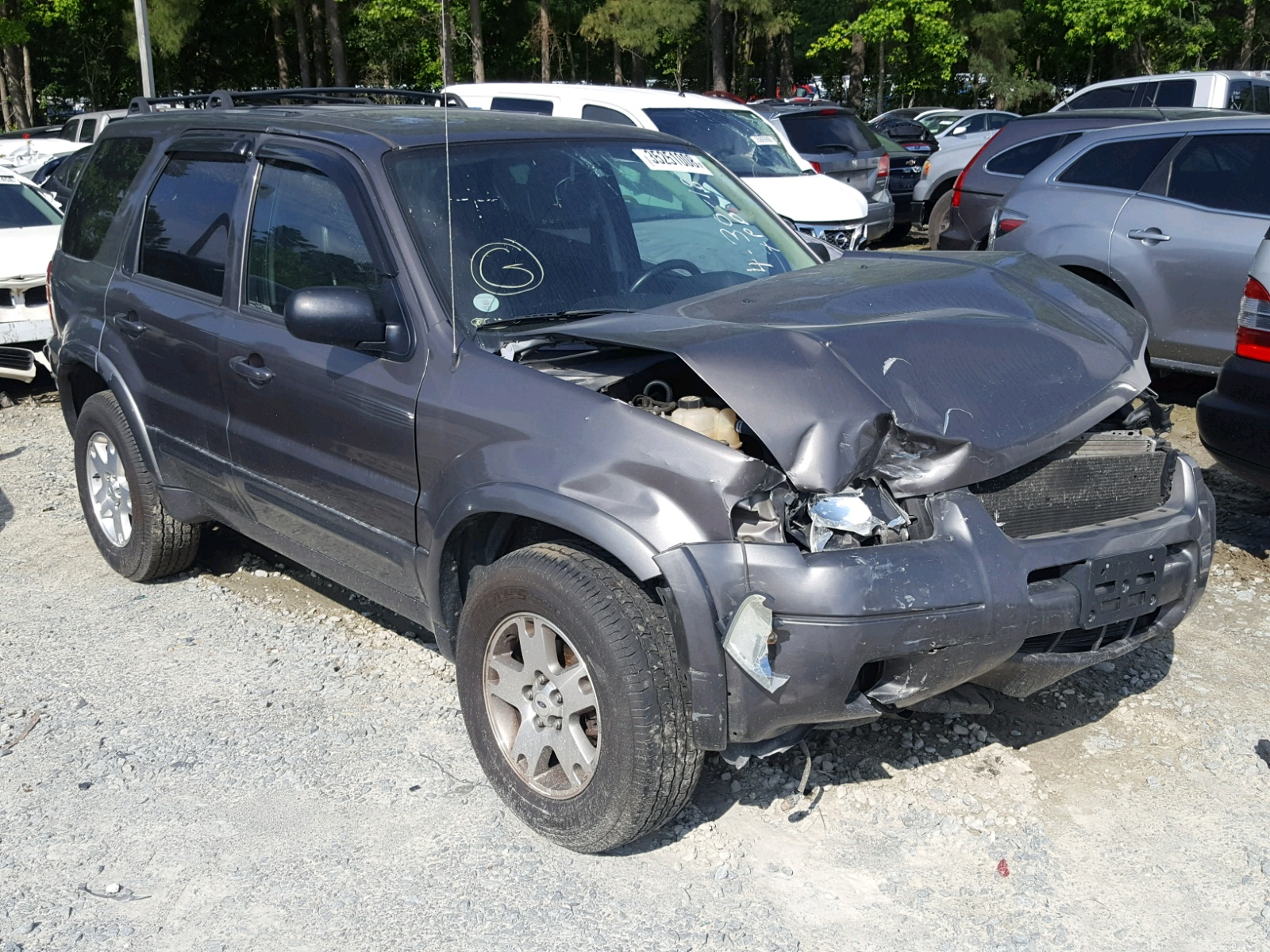 Salvage 2004 Ford ESCAPE LIM for sale