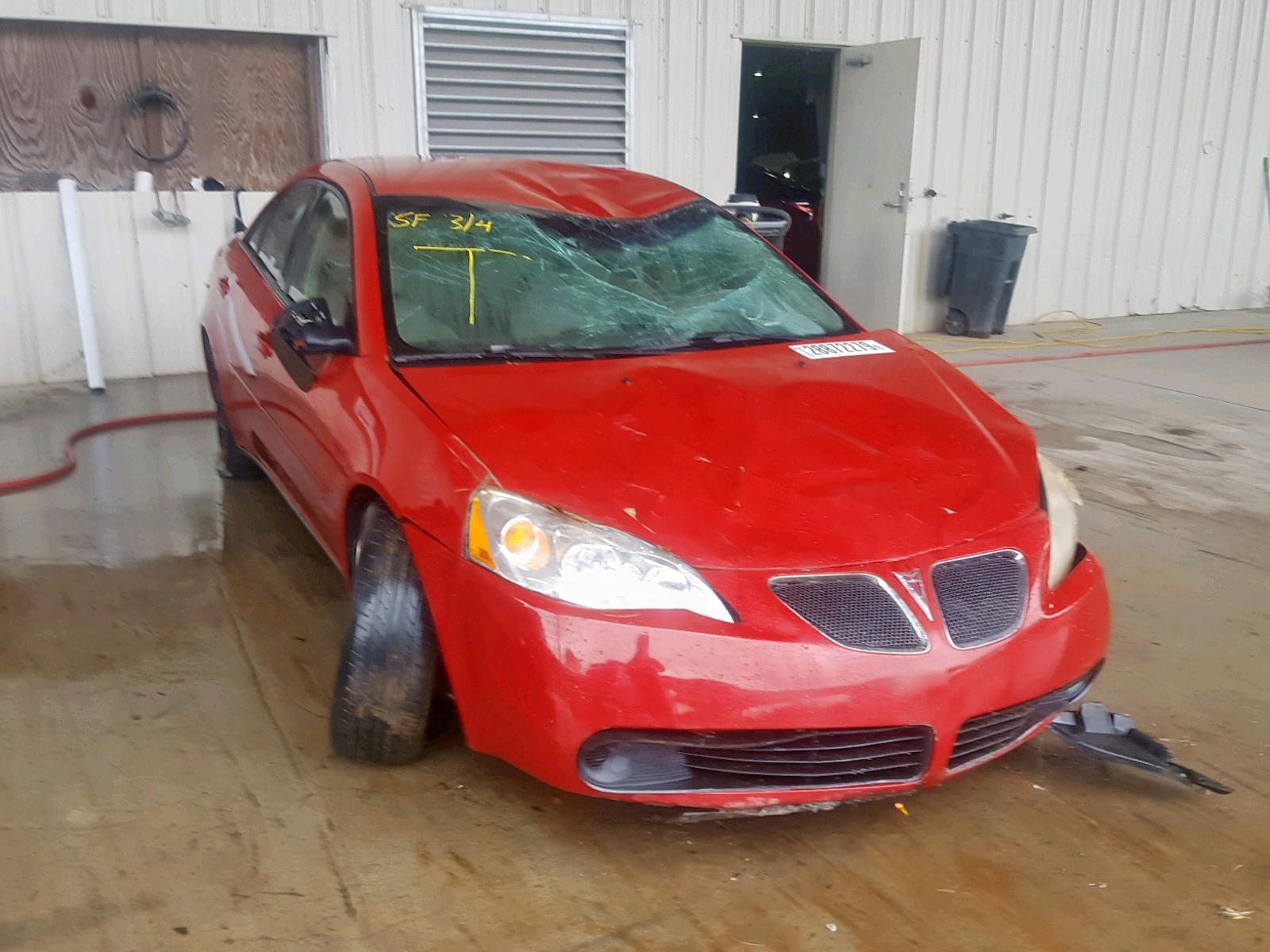 Salvage 2006 Pontiac G6 SE for sale