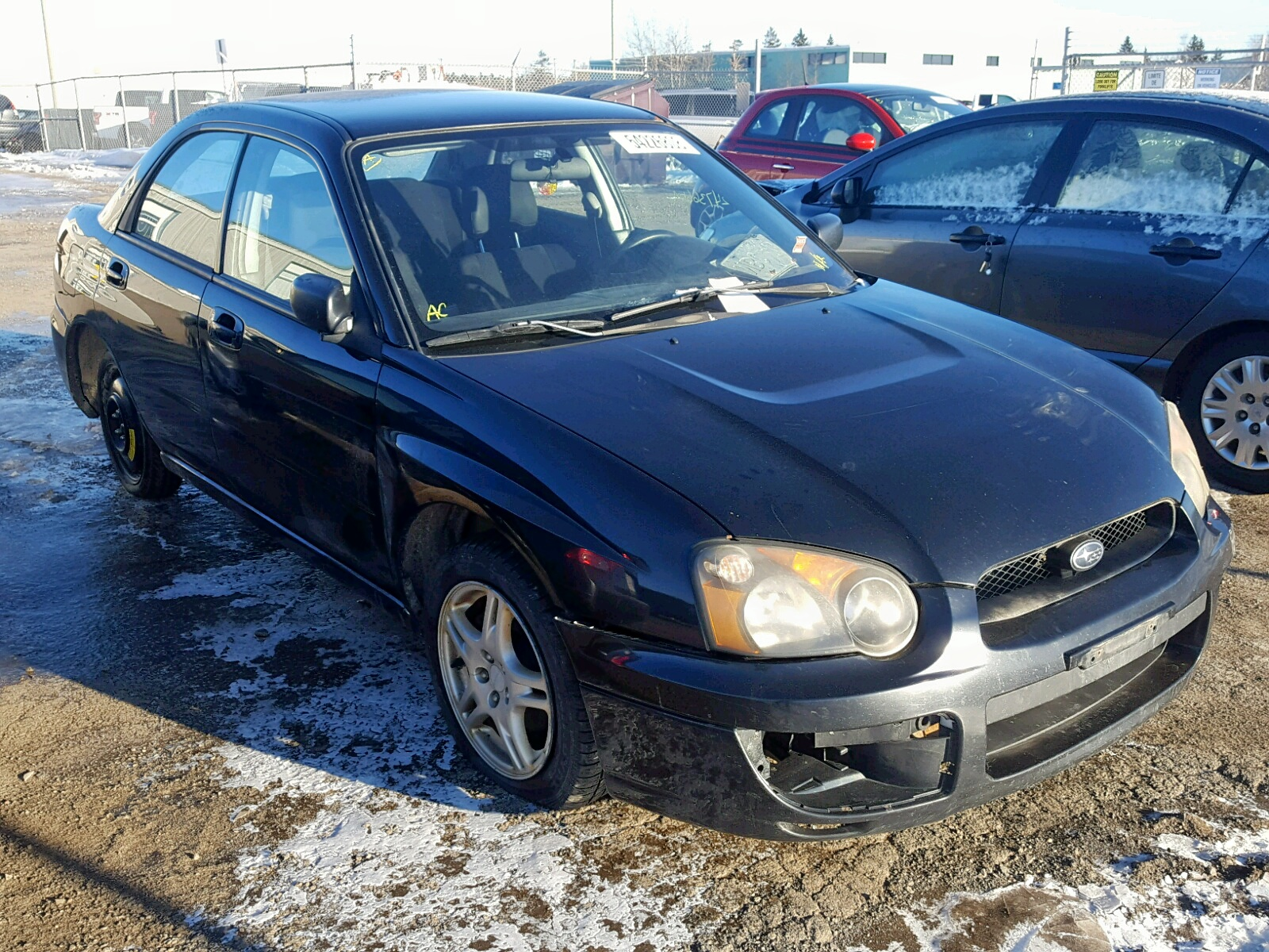 Salvage 2005 Subaru IMPREZA RS for sale