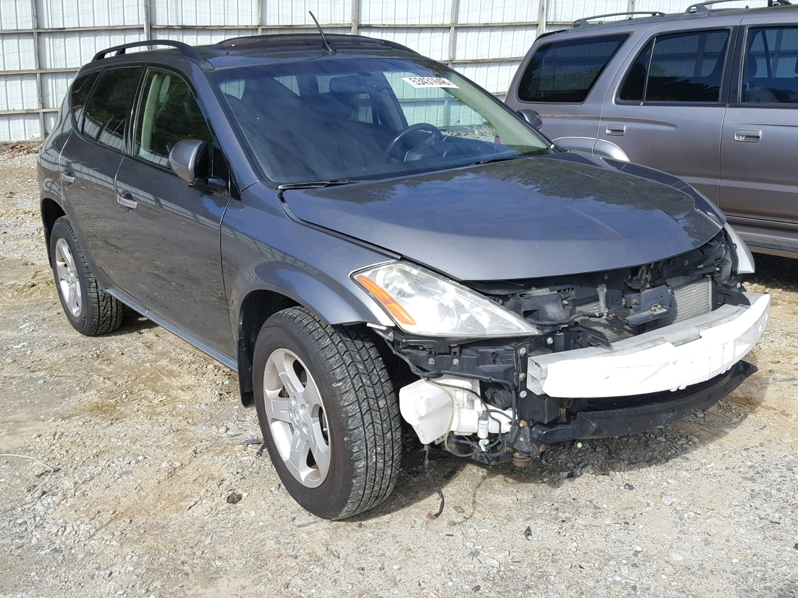 Salvage 2006 Nissan MURANO SL for sale