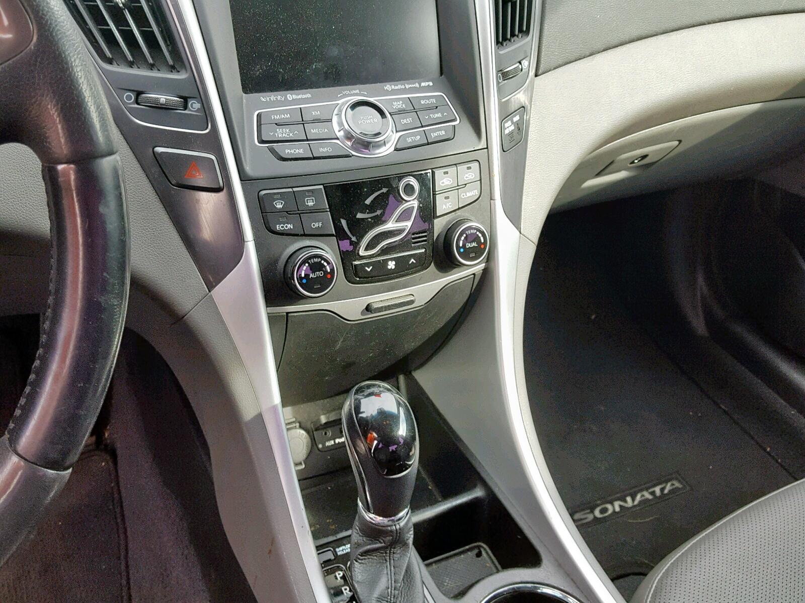 2012 Hyundai Sonata Hyb 2.4L engine view