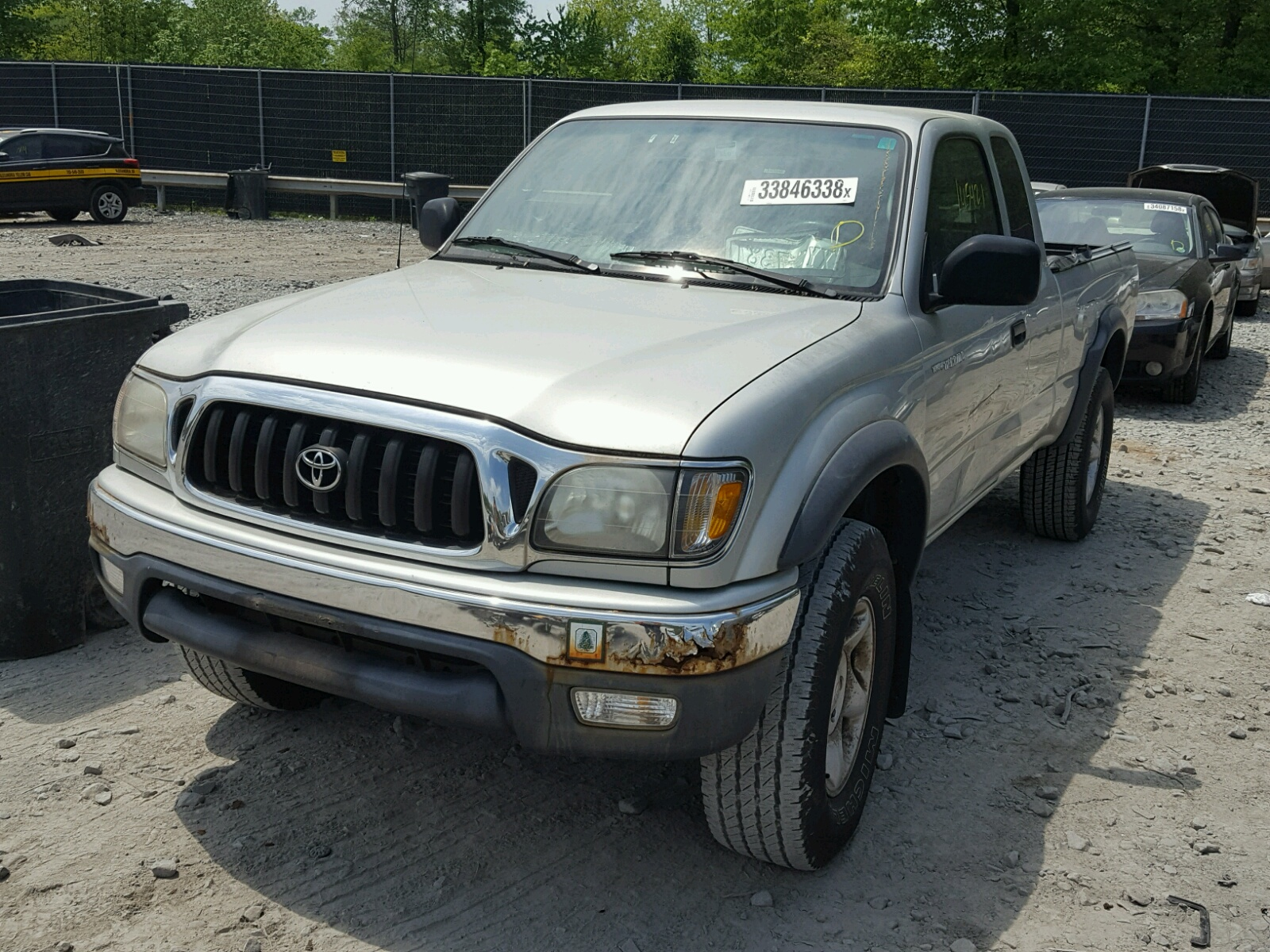 Copart Customer Service Number >> 2002 Toyota Tacoma Xtr 3.4L 6 in DC - Washington DC (5TEWN72N22Z125033) for Sale – AutoBidMaster.com