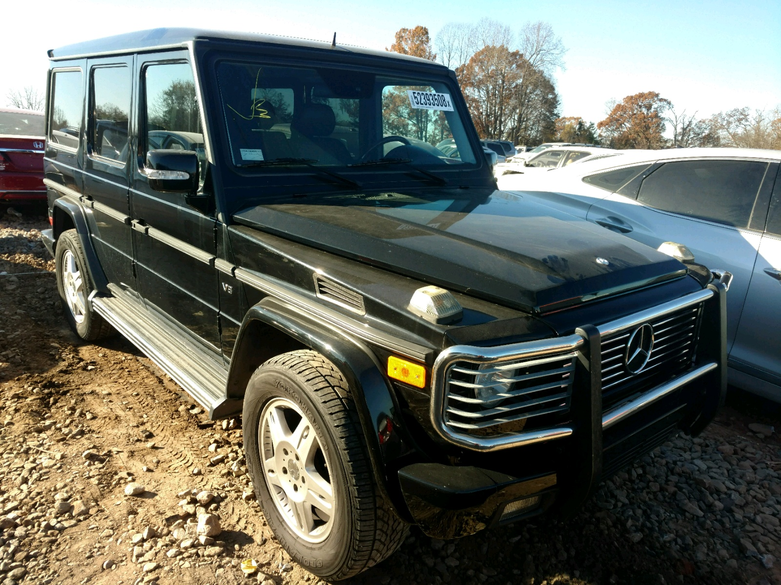 2003 Mercedes Benz G 500 for sale at Copart China Grove NC Lot