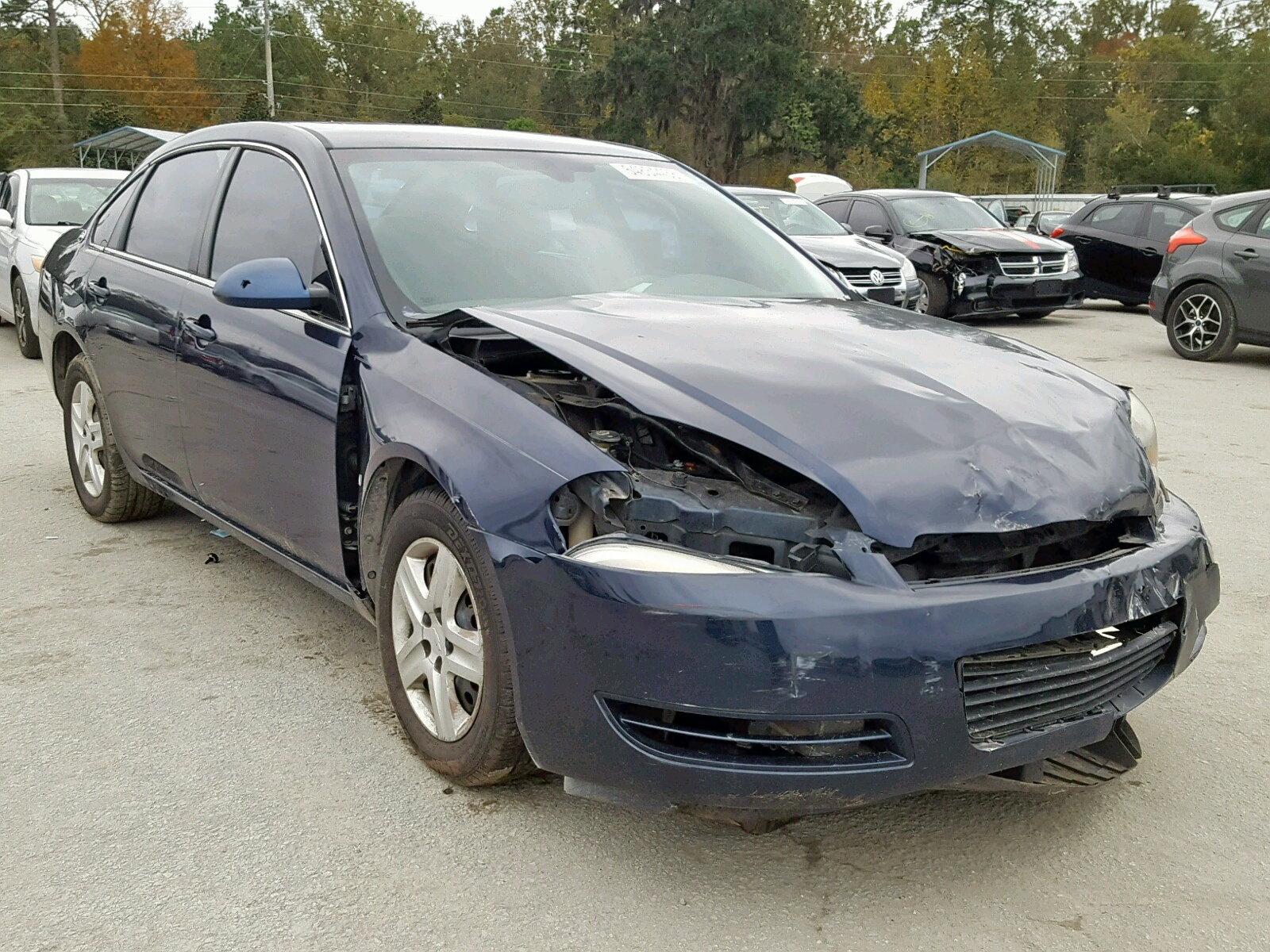 Salvage 2008 Chevrolet IMPALA LS for sale