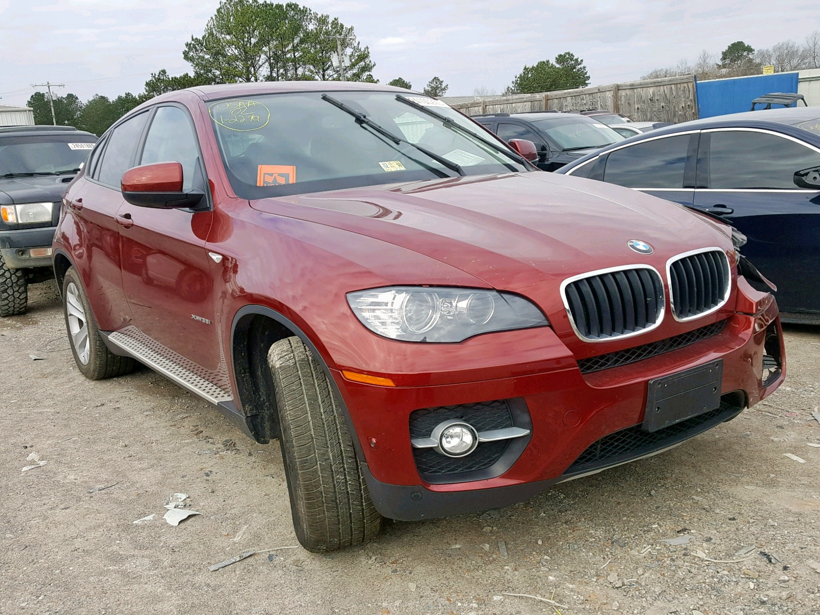 Salvage 2012 BMW X6 XDRIVE3 for sale