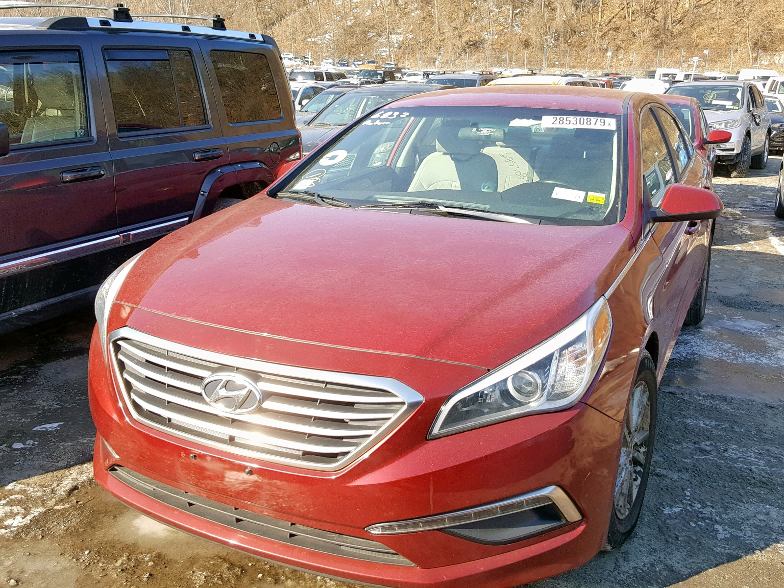 5NPE24AF9FH081103 - 2015 Hyundai Sonata Se 2.4L Right View