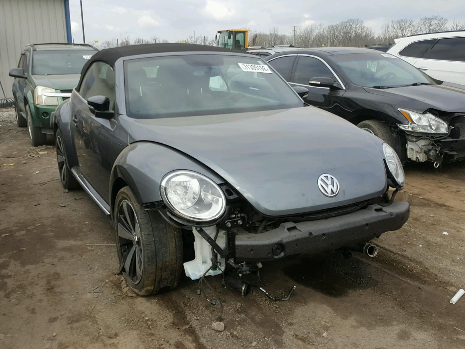 view left copart new beetle auctions of cert sale auto gray en online title lot in carfinder salvage ky louisville on volkswagen