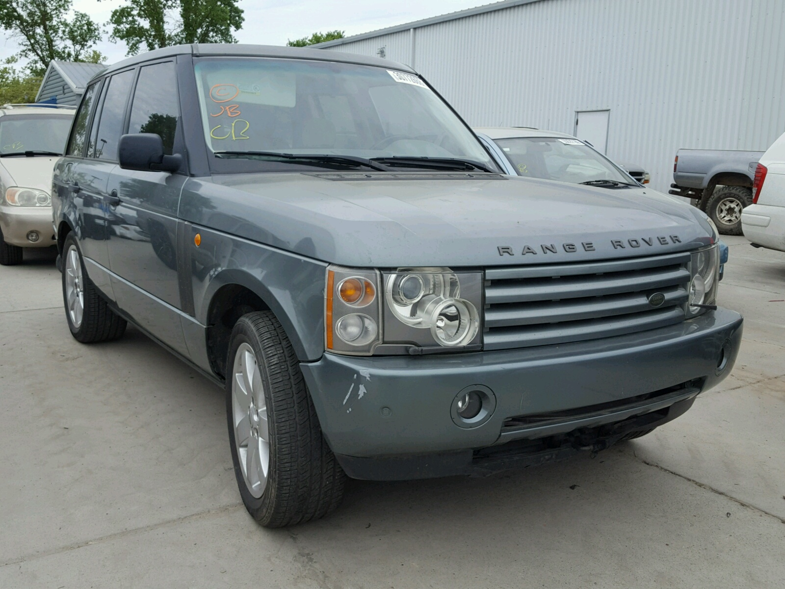 2003 Land Rover Range Rover for sale at Copart Sacramento CA Lot