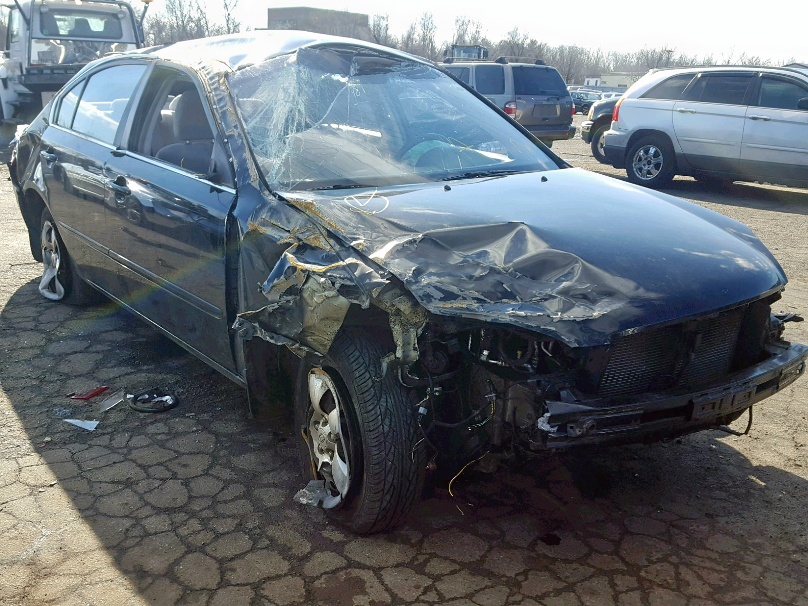Salvage 2008 KIA OPTIMA for sale