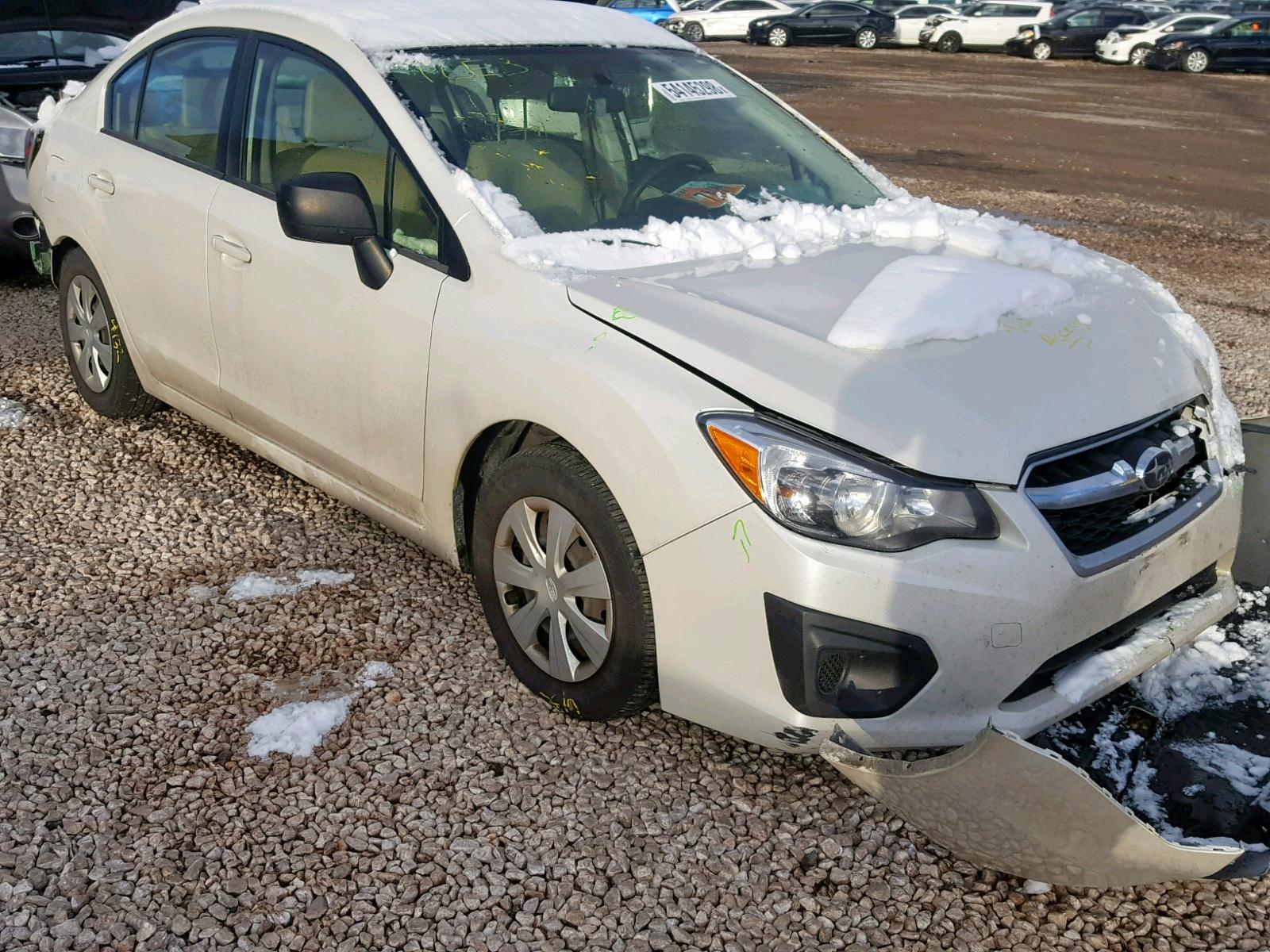 Salvage 2014 Subaru IMPREZA BA for sale