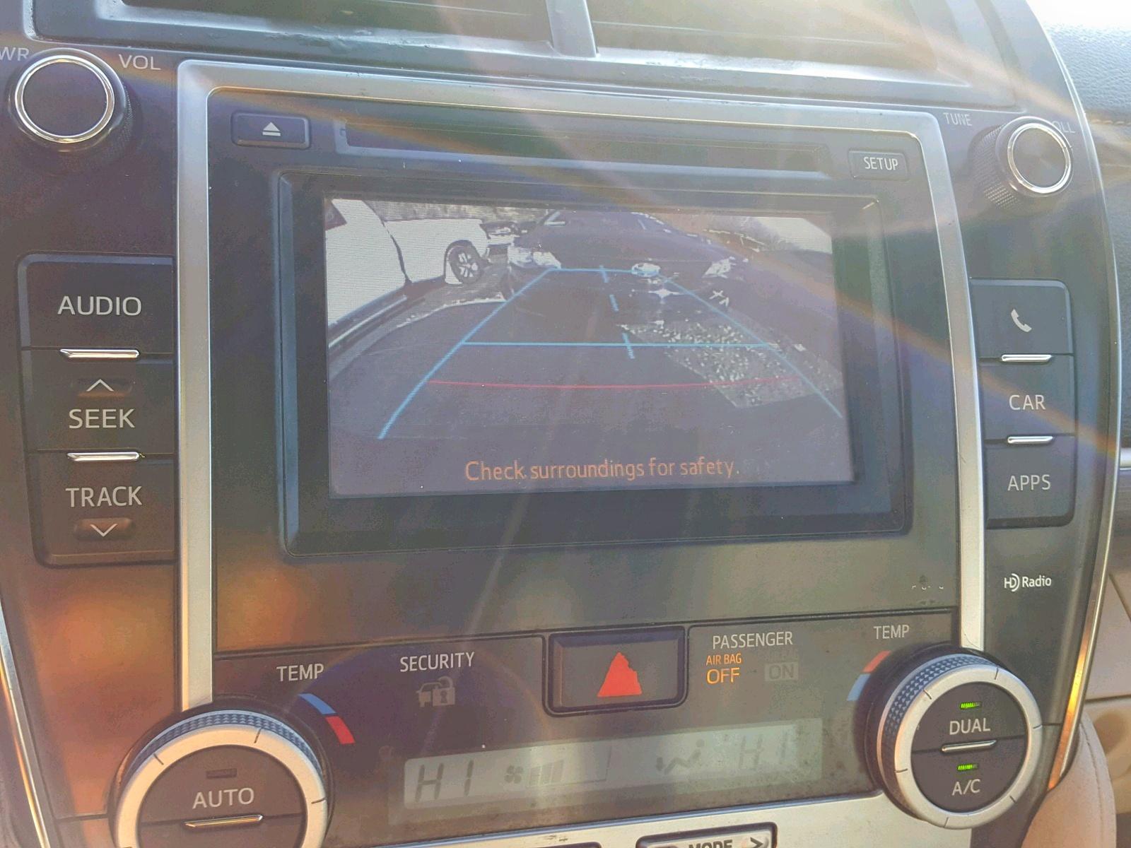 2014 Toyota Camry Hybr 2.5L engine view