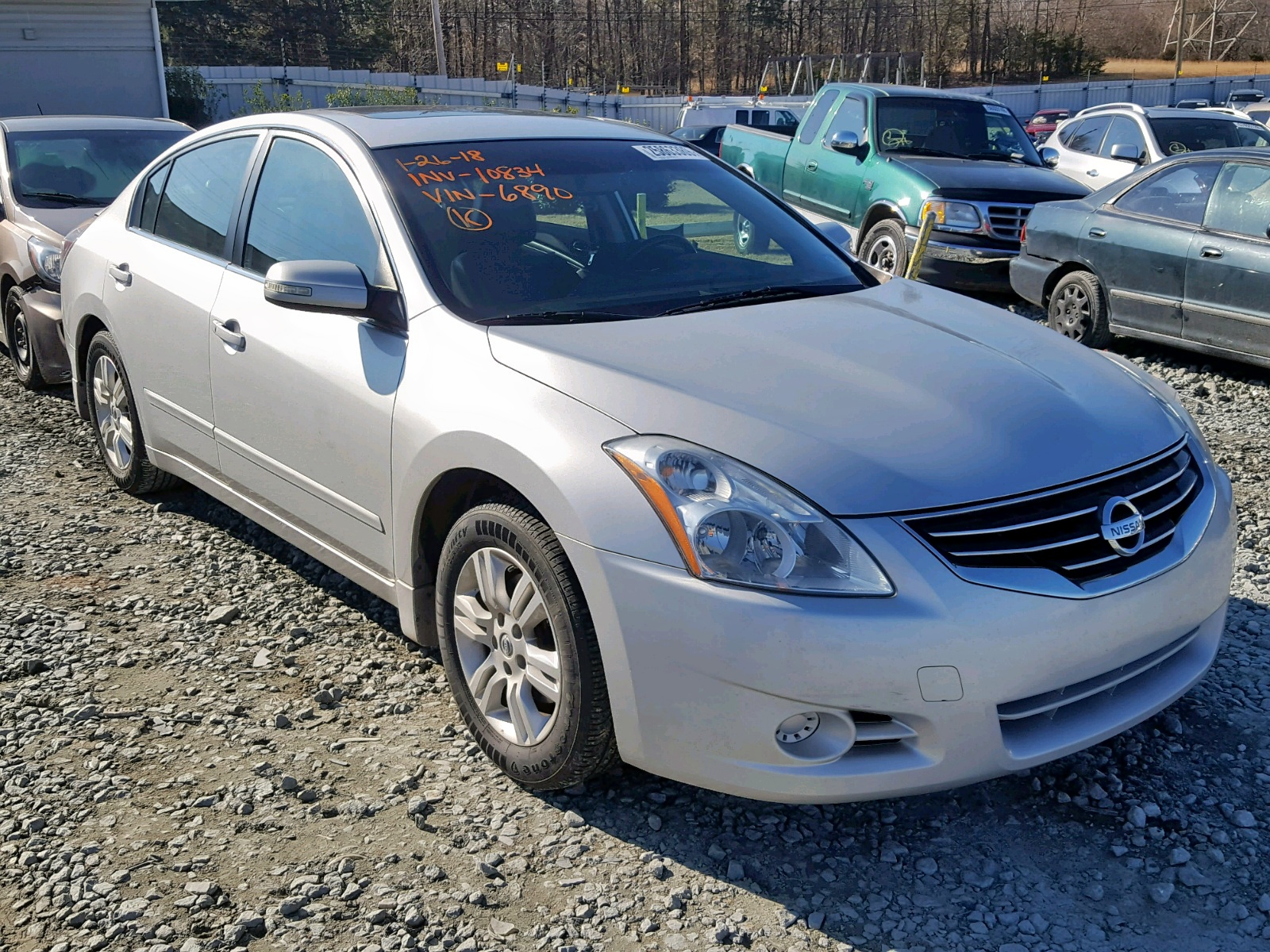 Salvage 2012 Nissan ALTIMA BASE for sale