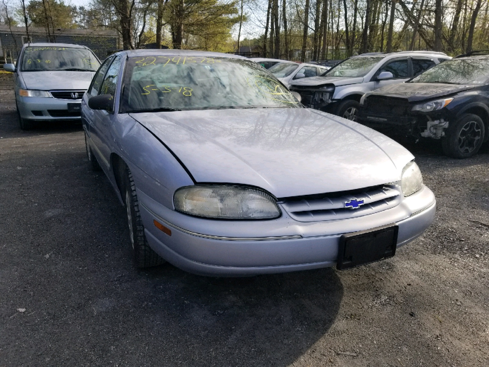 Salvage 1997 Chevrolet LUMINA BASE for sale