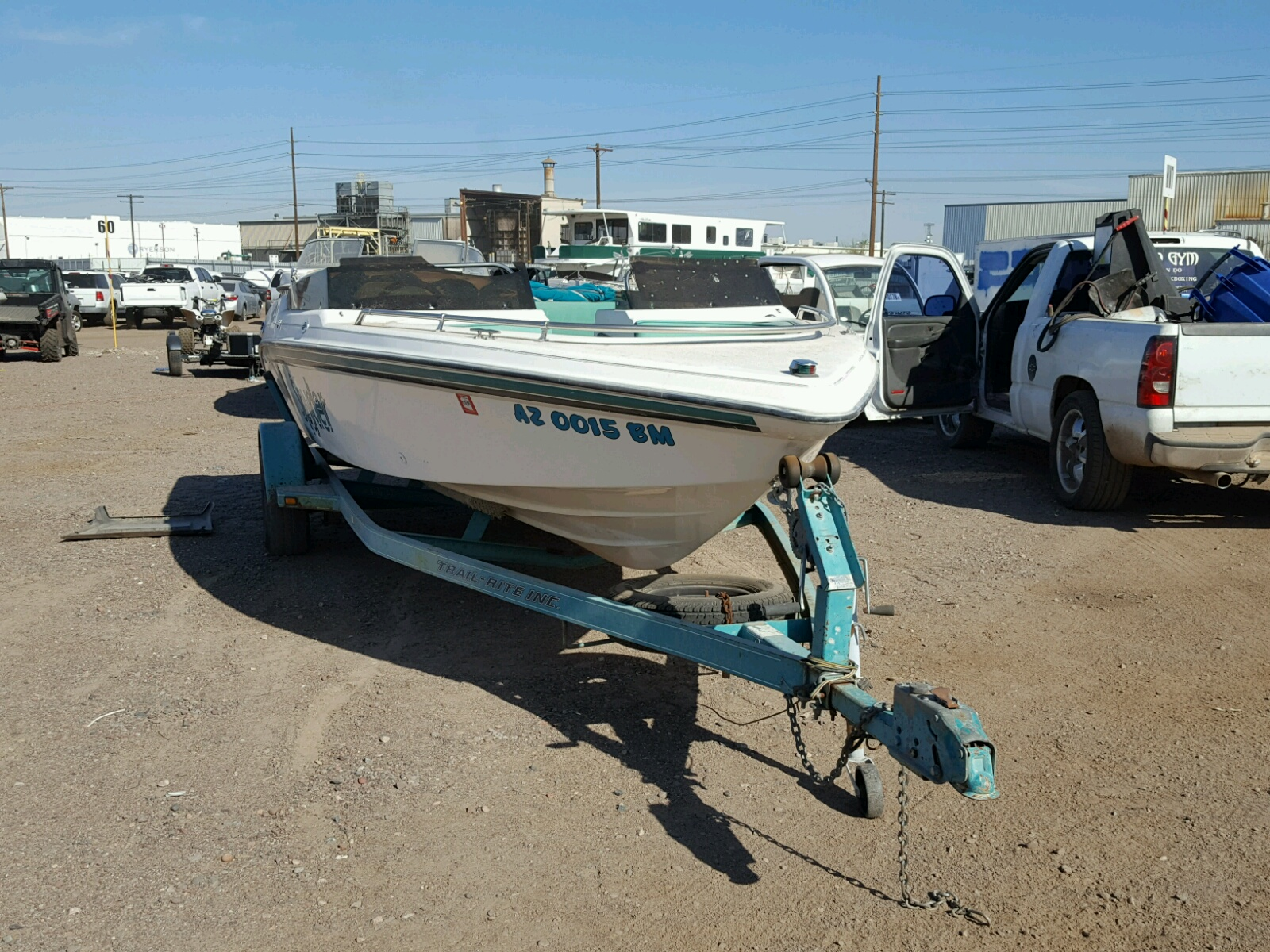 Salvage 1993 Sea Sprite BOAT for sale