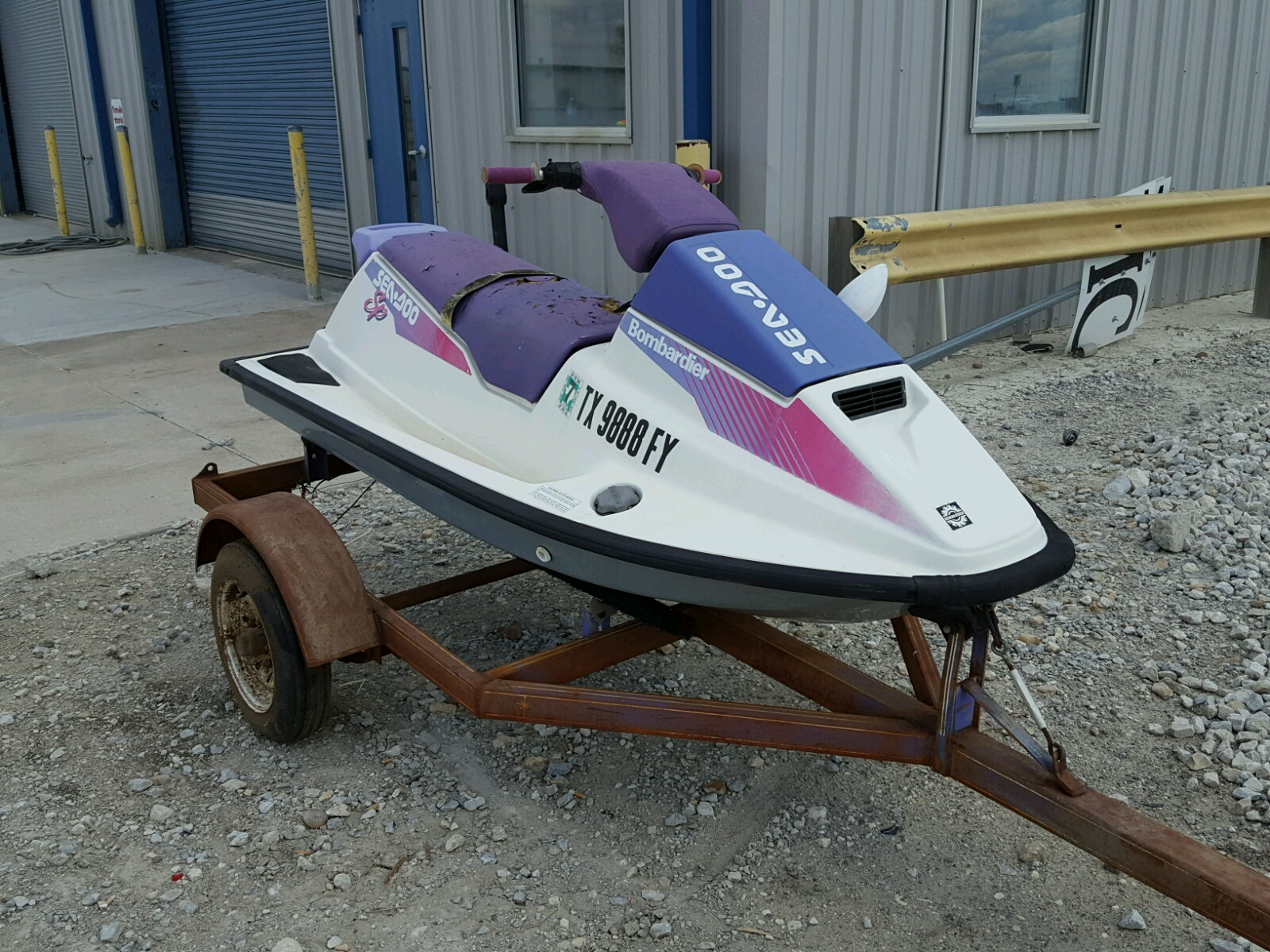 Salvage 1992 Seadoo SP for sale